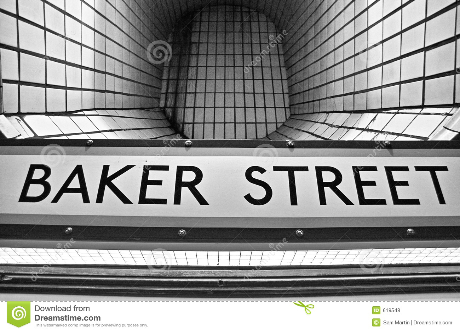 De Buis van de Straat van Baker