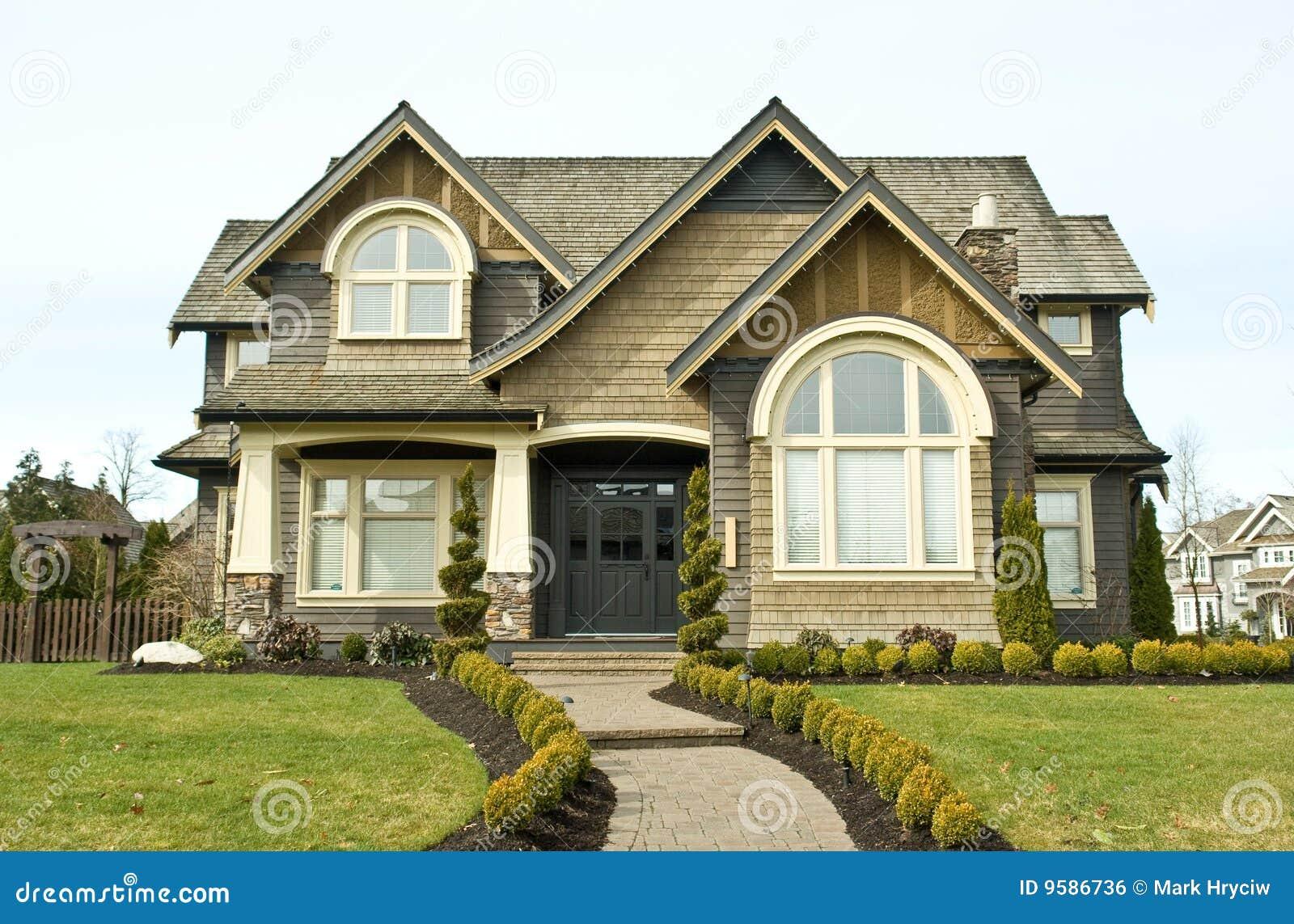 De Buitenkant van het huis