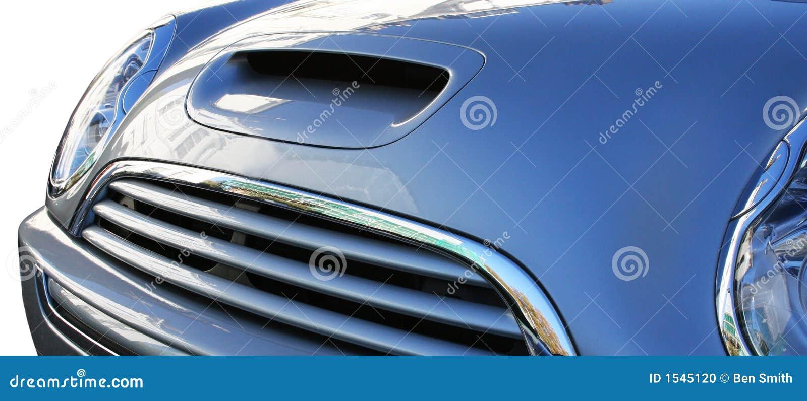 De Bumper van de auto