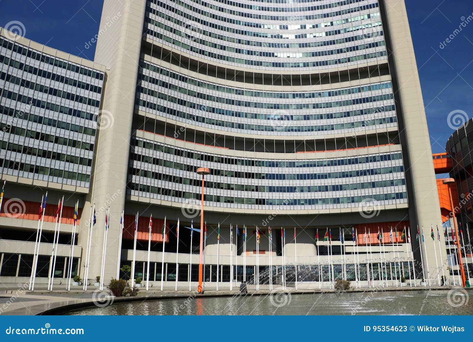 De bureaus van de Verenigde Naties in Wenen