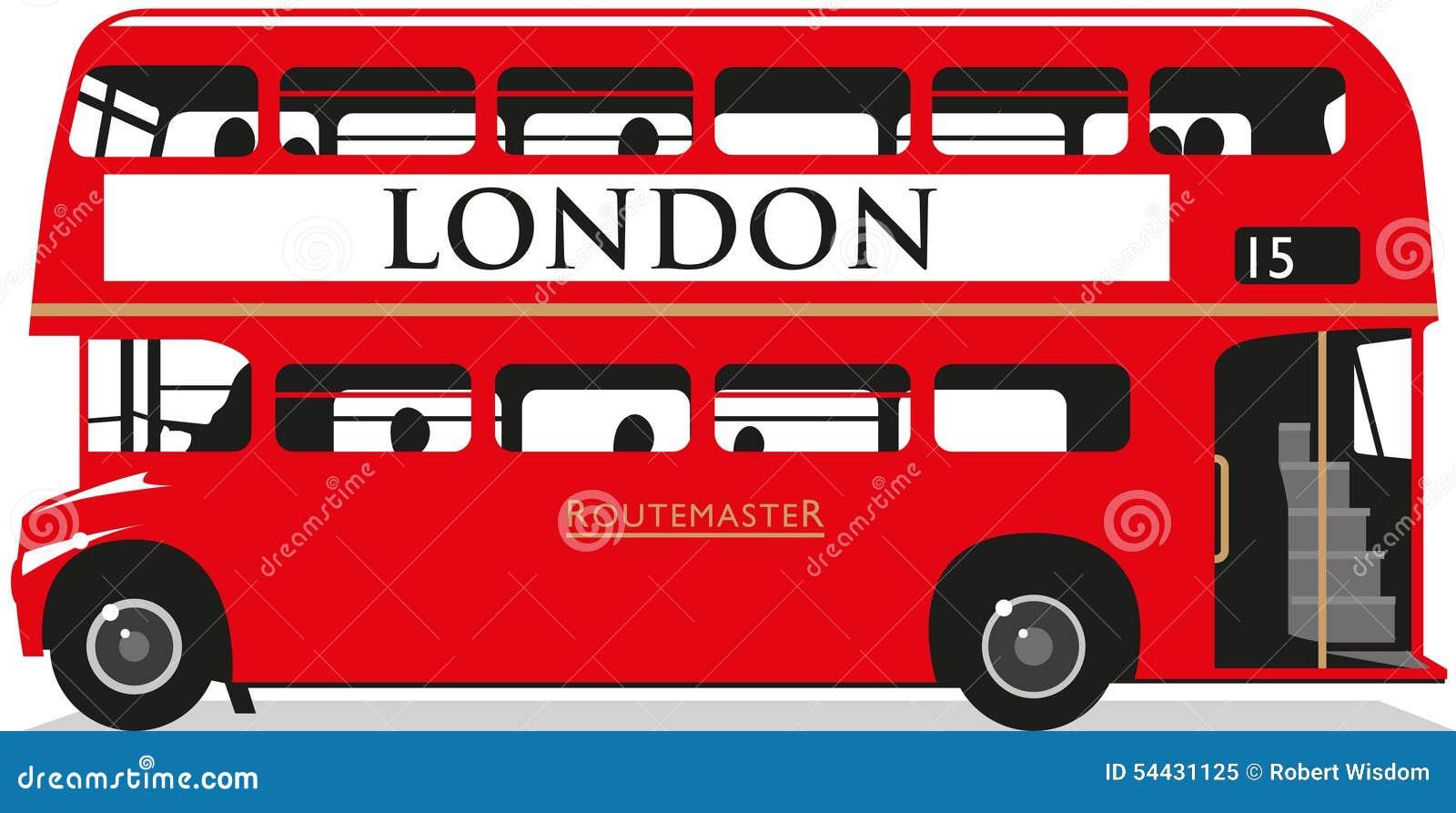 De bus van Londen