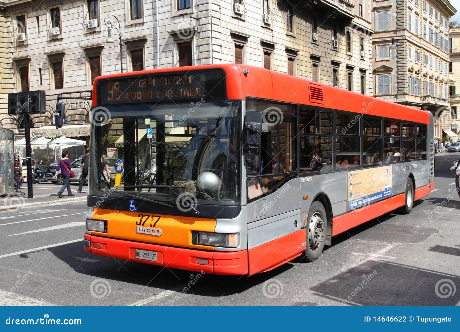 De bus van Rome