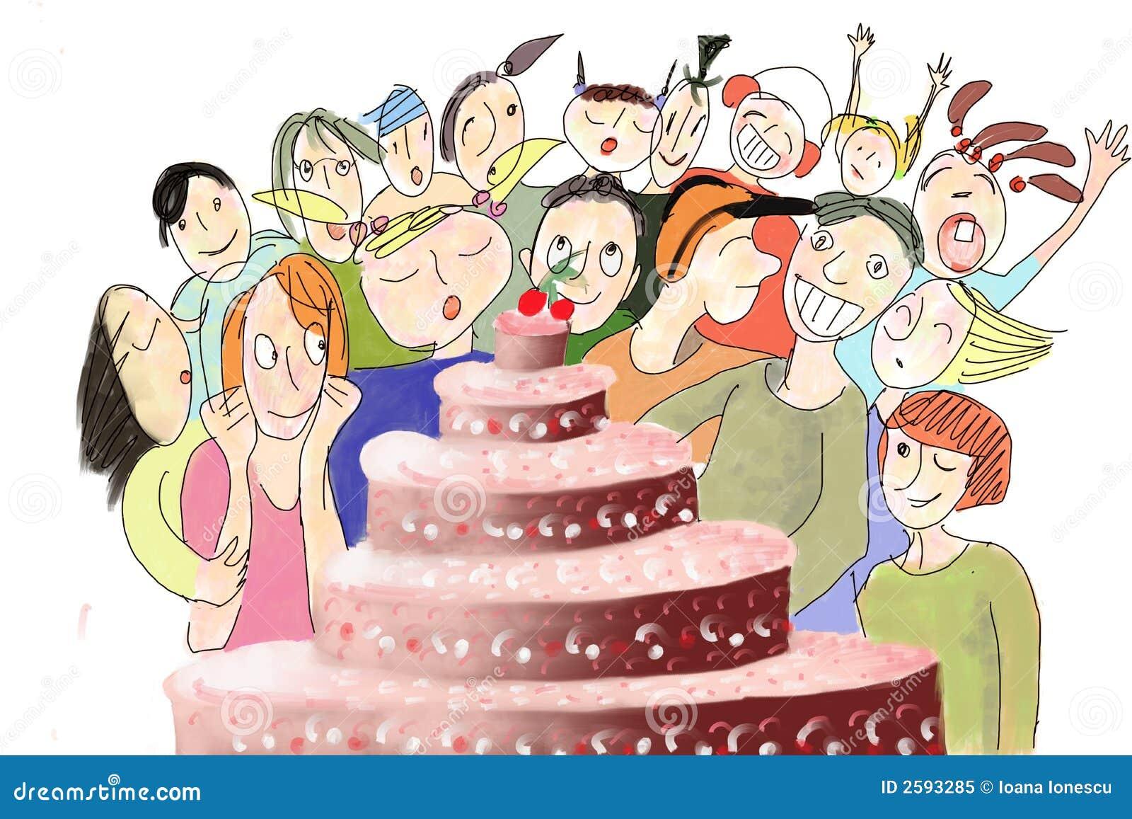 De Cake van Biirthday