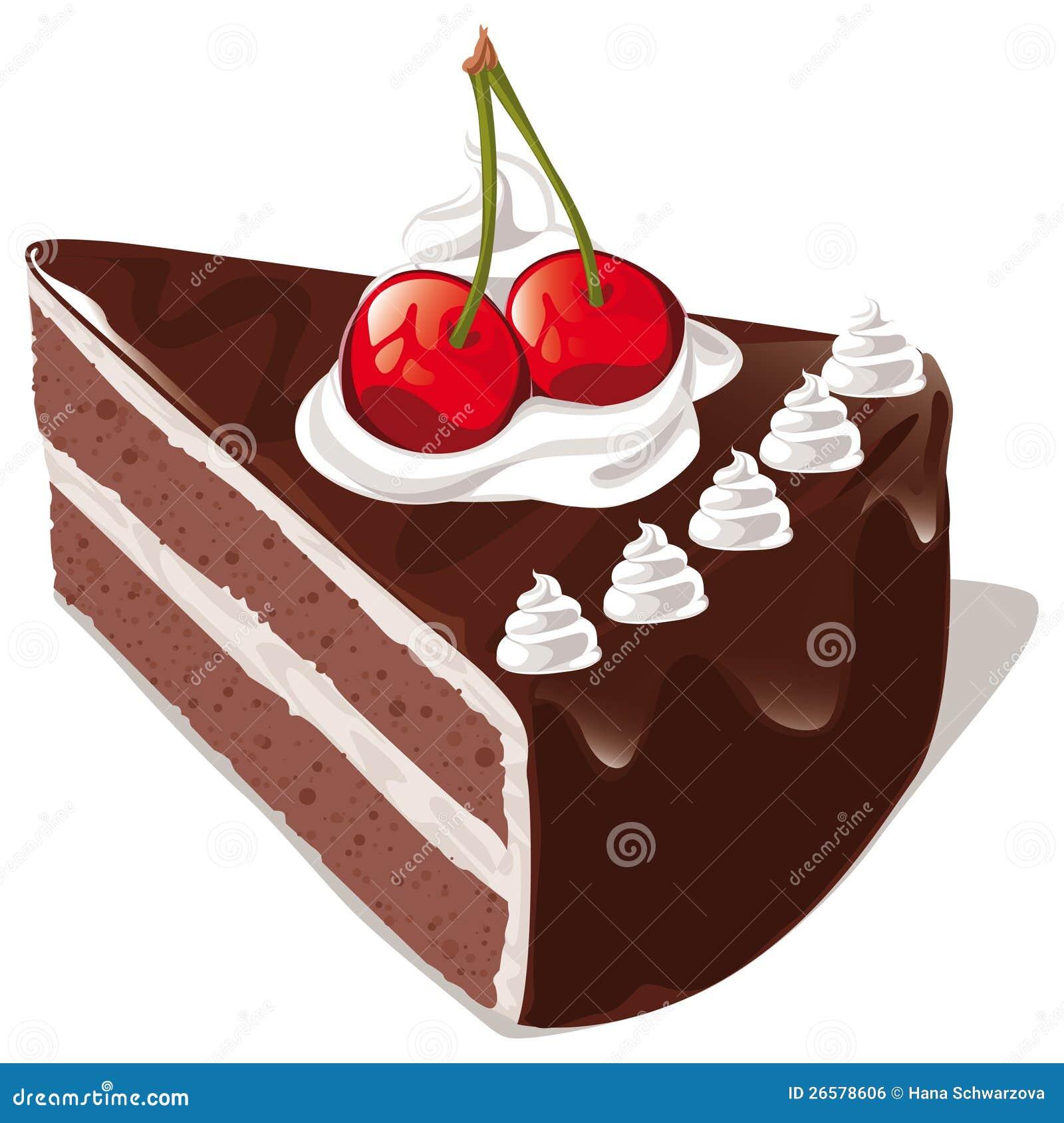 De cake van de chocolade