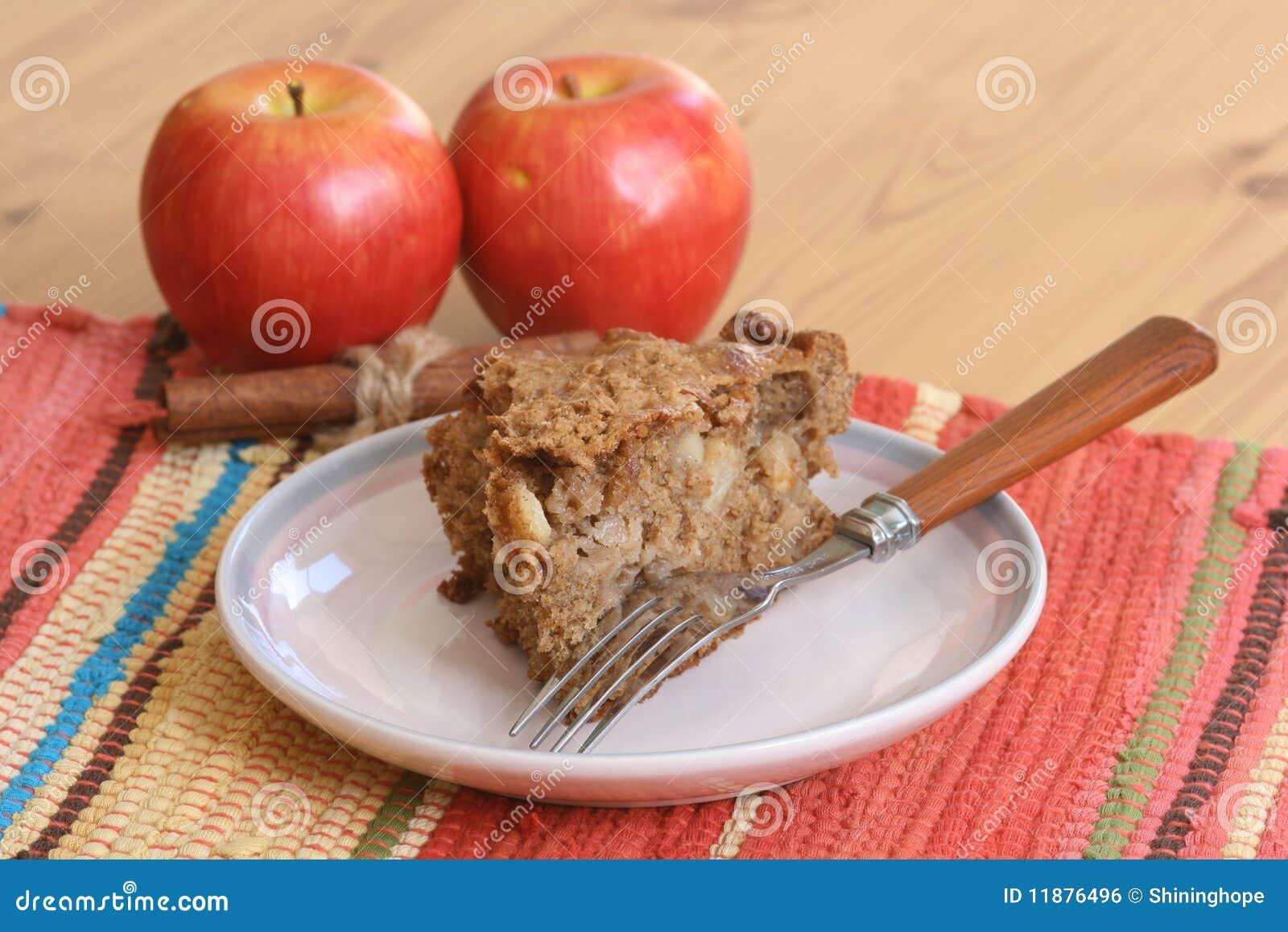 De Cake van de Koffie van de appel