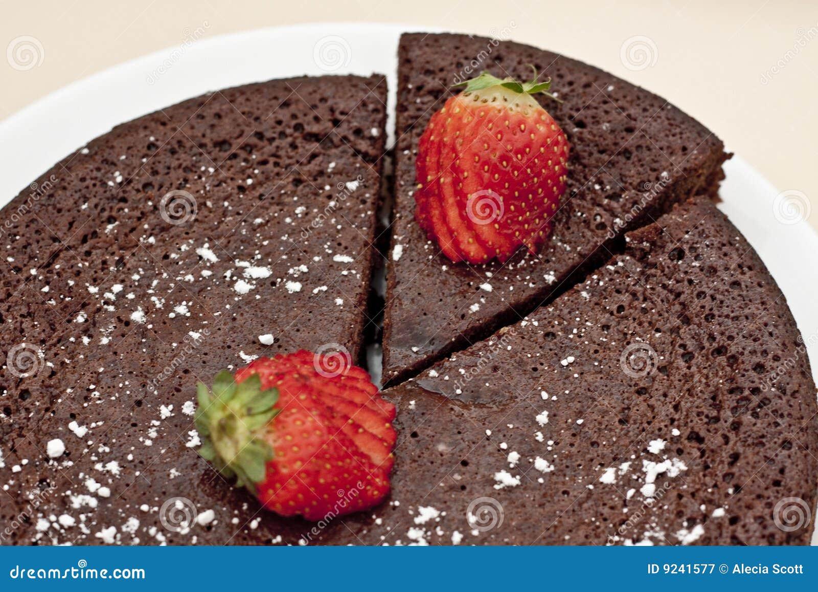 De Cake van de Modder van de chocolade