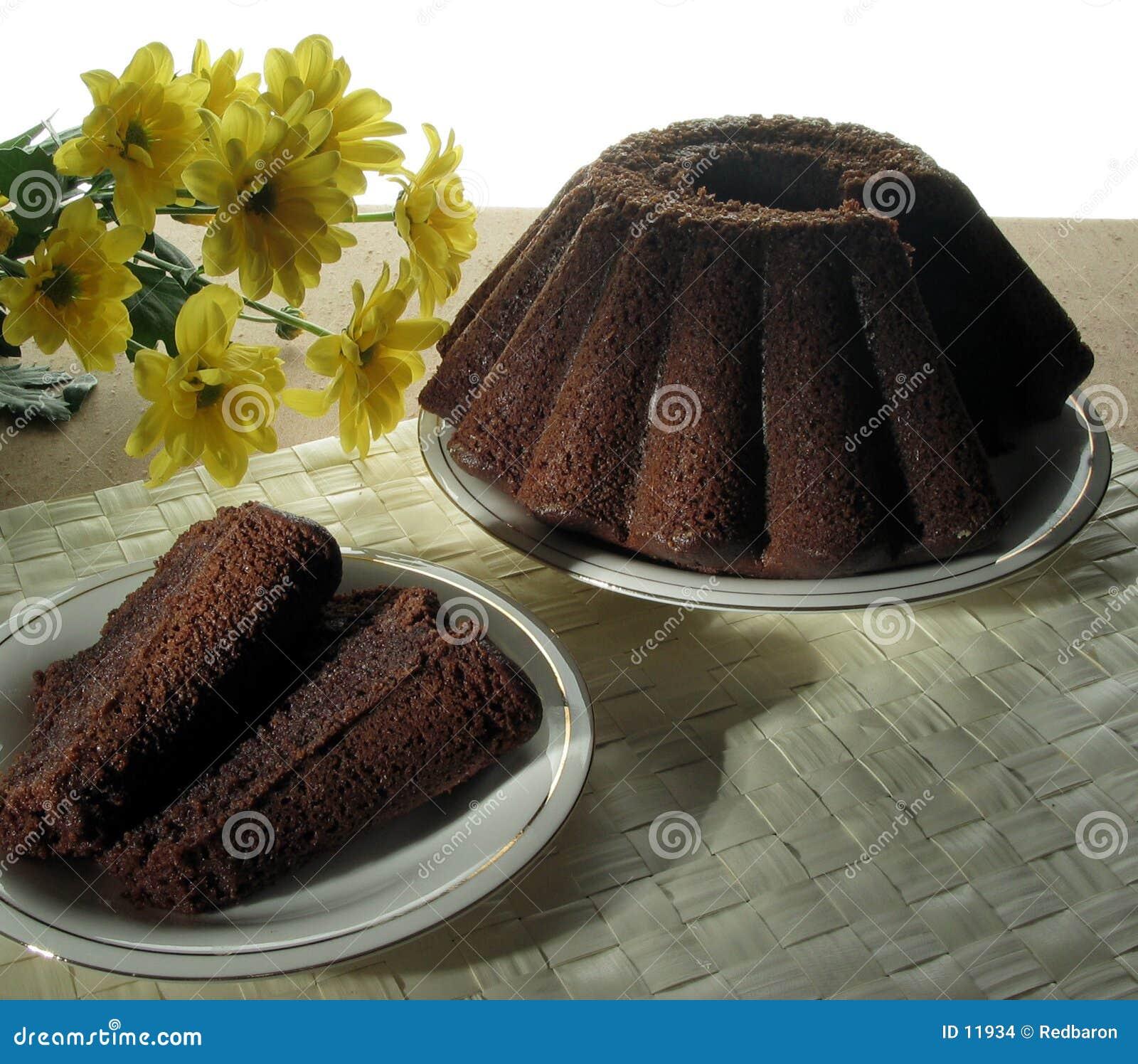 De cake van de noot