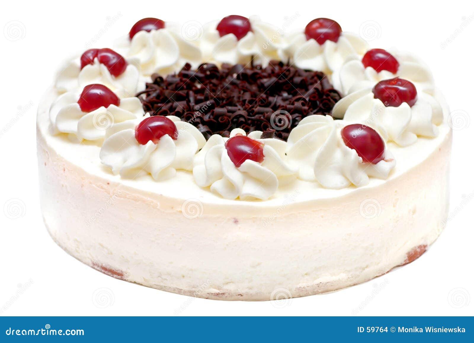De Cake van de slagroom