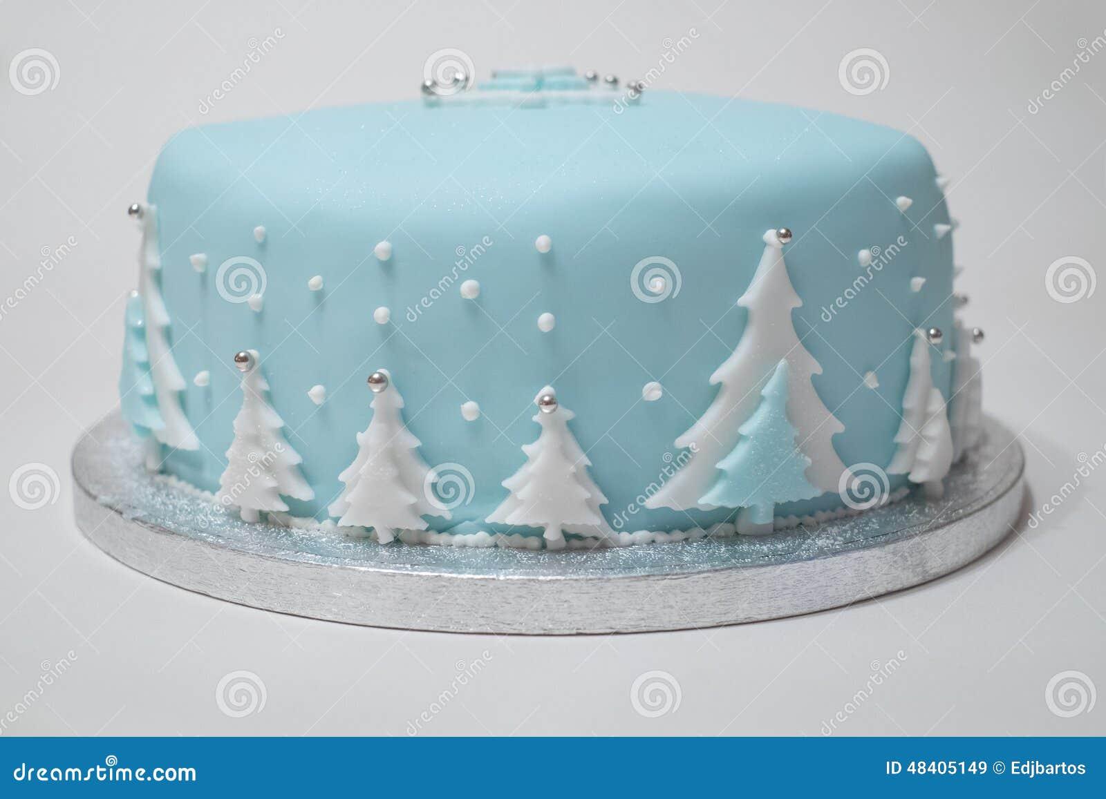 De Cake van Kerstmis