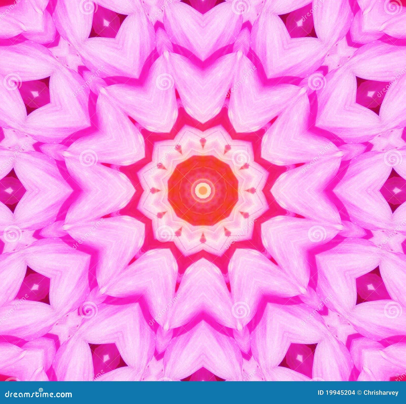 De Caleidoscopische Achtergrond van de bloem