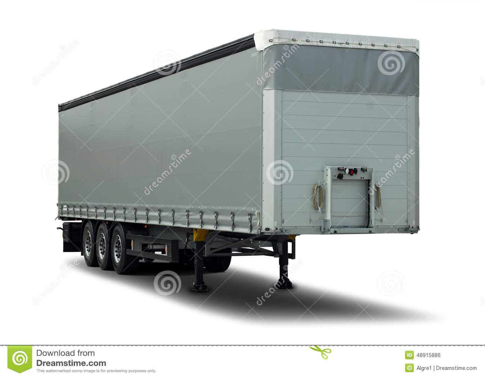 de camion remorque semi photo stock image du fond cargaison 48915886. Black Bedroom Furniture Sets. Home Design Ideas