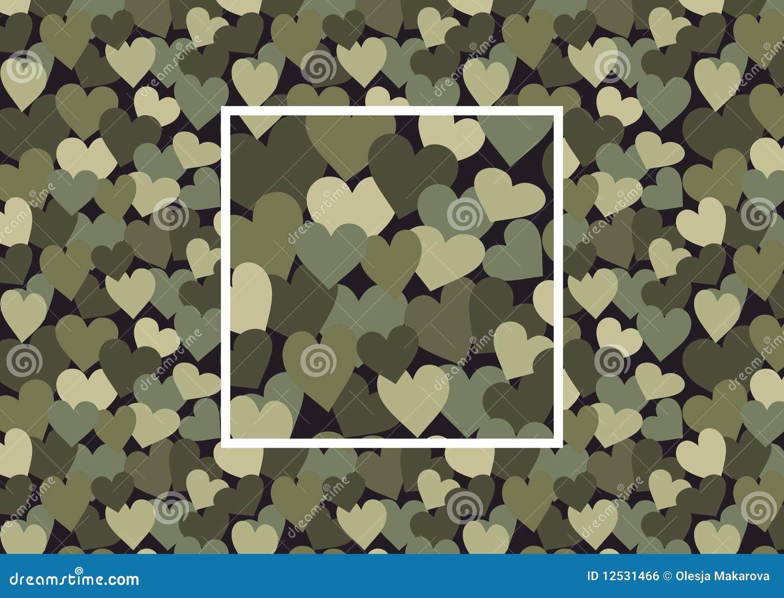 De camouflage van het hart