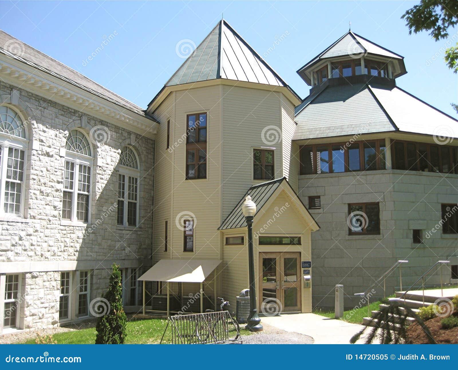De Campus van de Universiteit van Middlebury