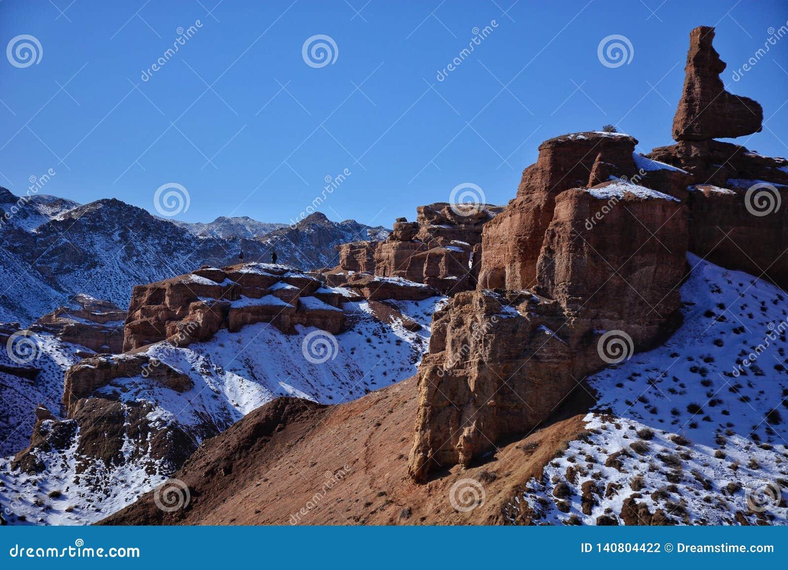 De Canion van Charyn in Kazachstan