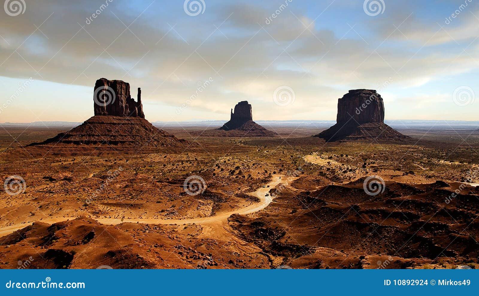 De canion van het landschap