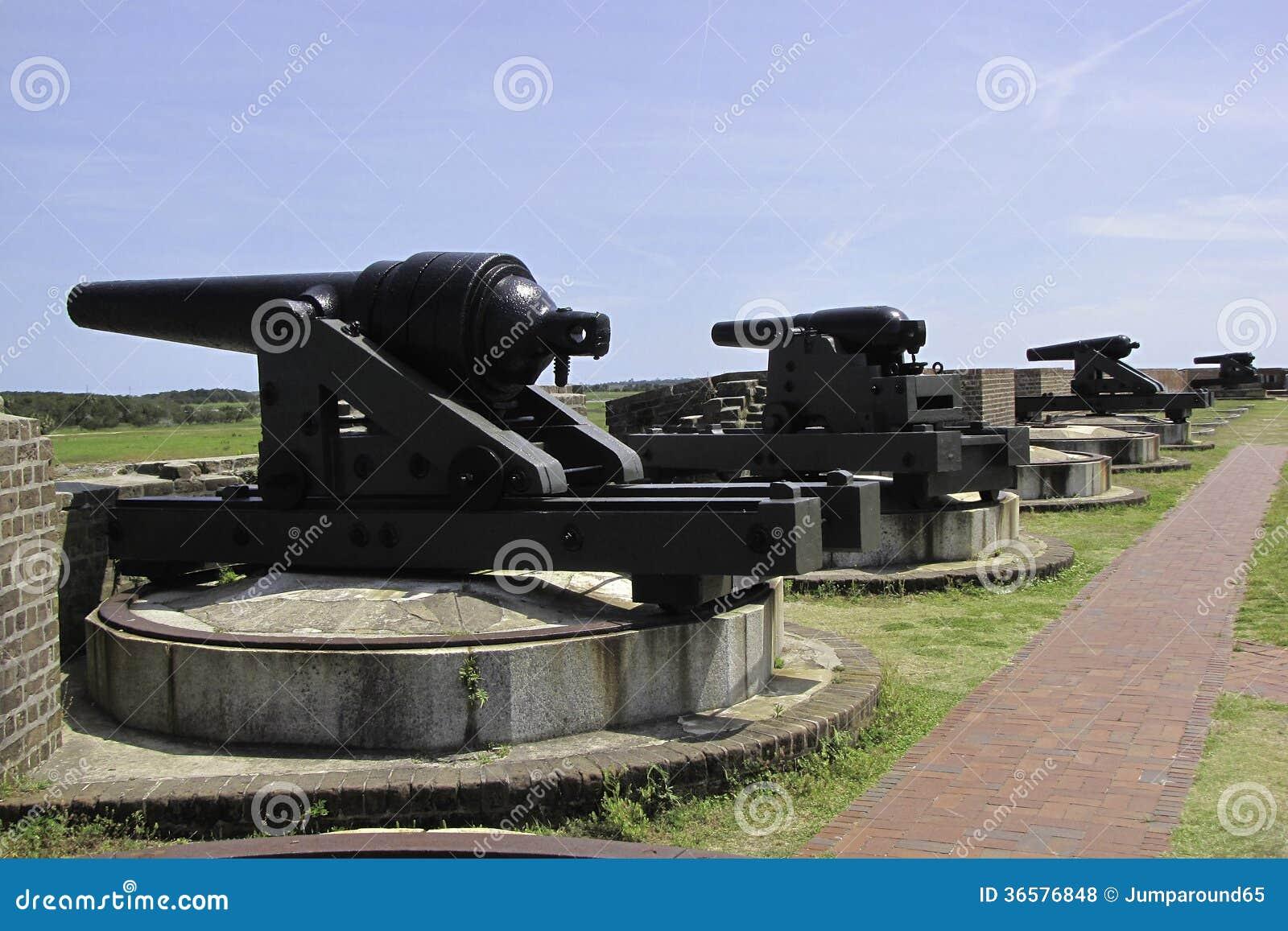 De Canons van fortpulaski
