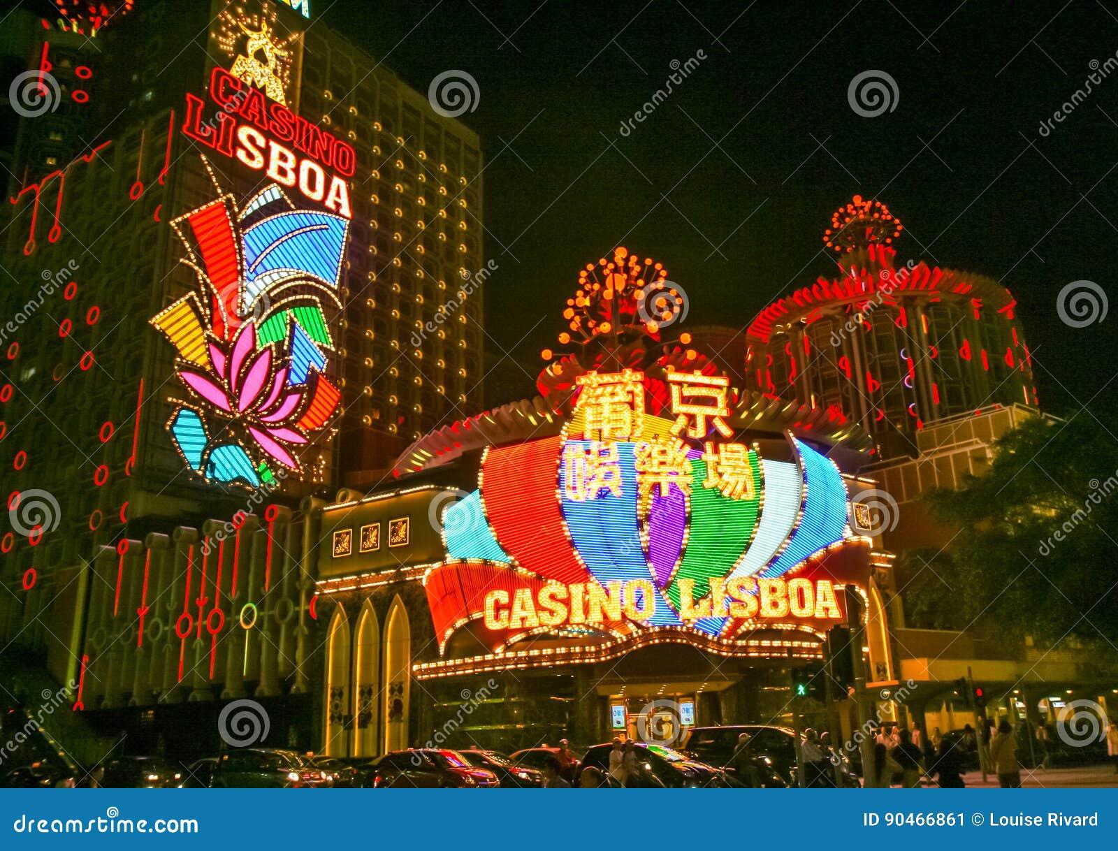 De casino s van Macao
