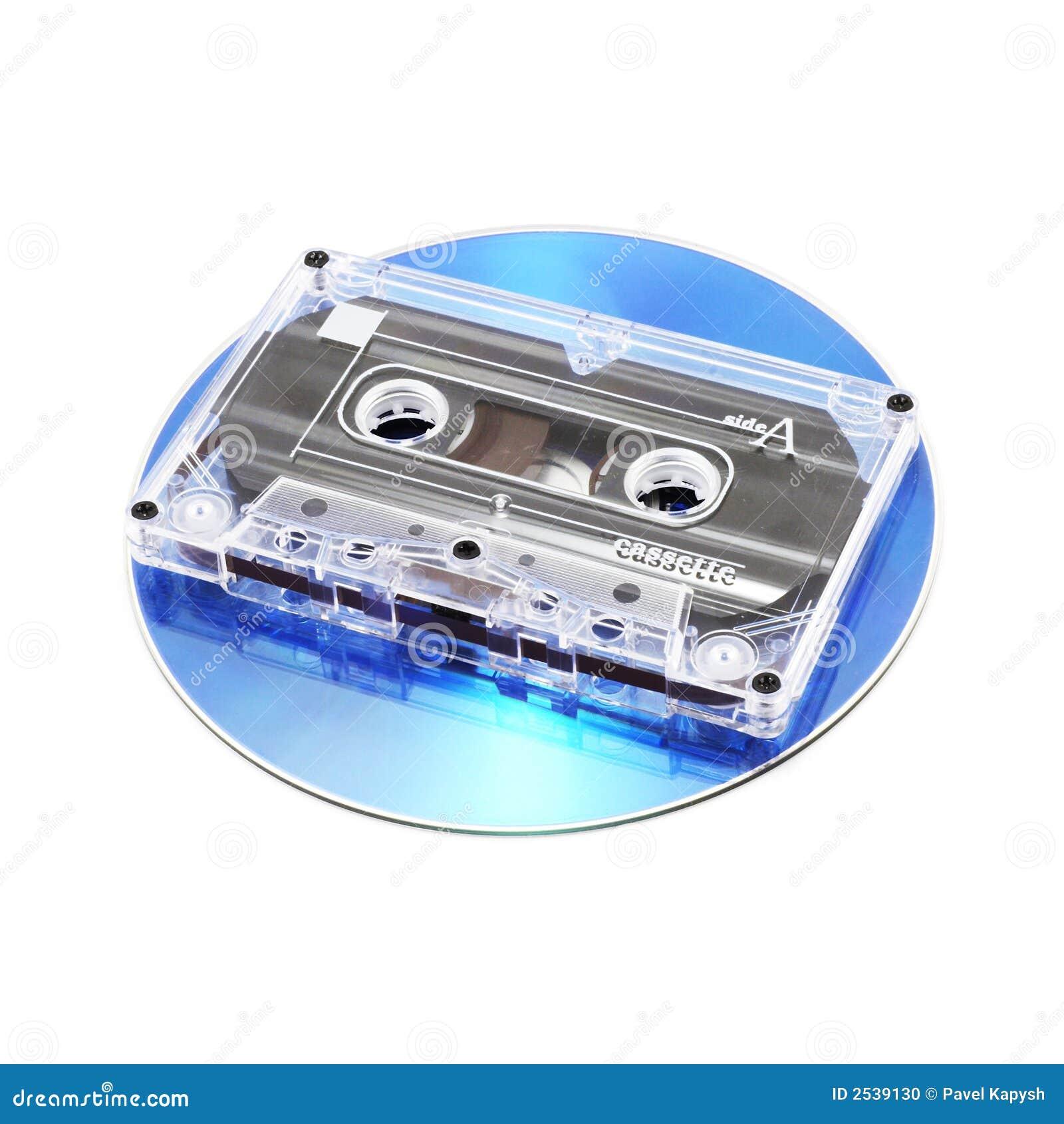 De Cassette van de band en CD