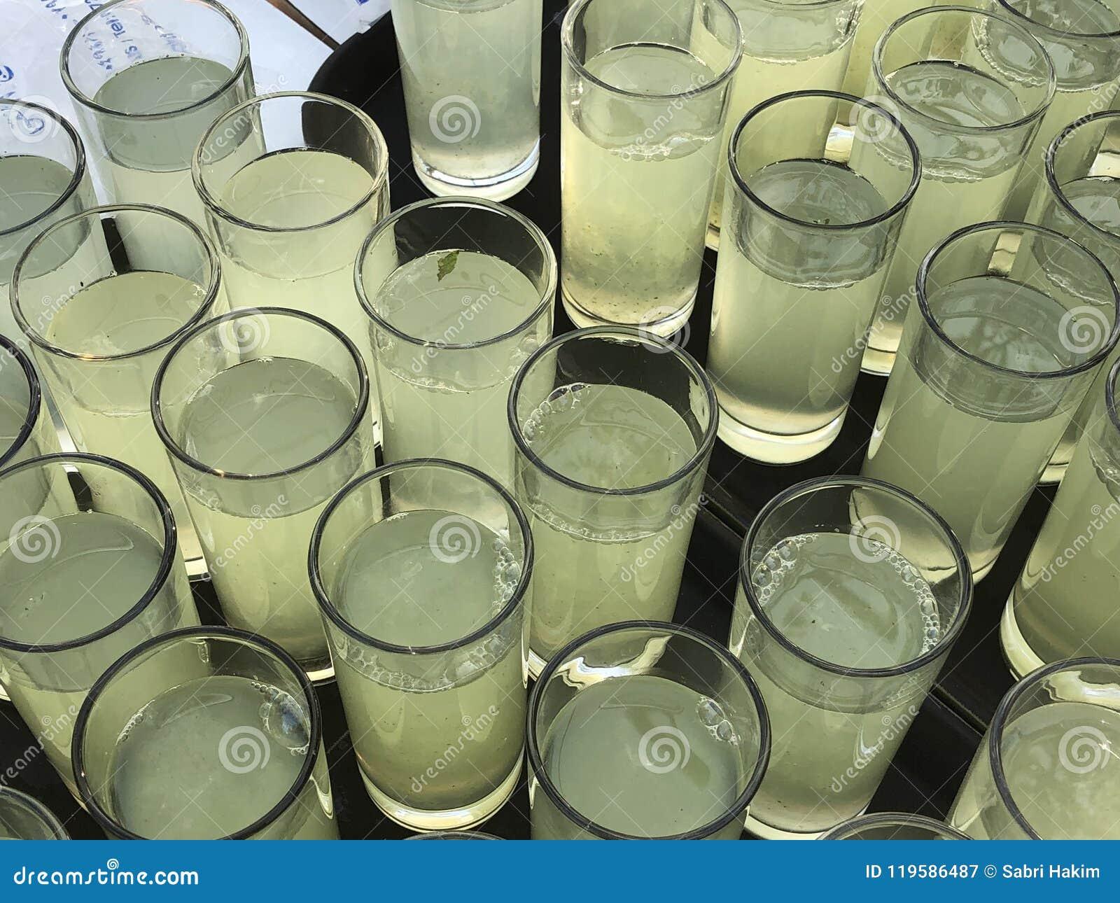 De catering van de saplimonade