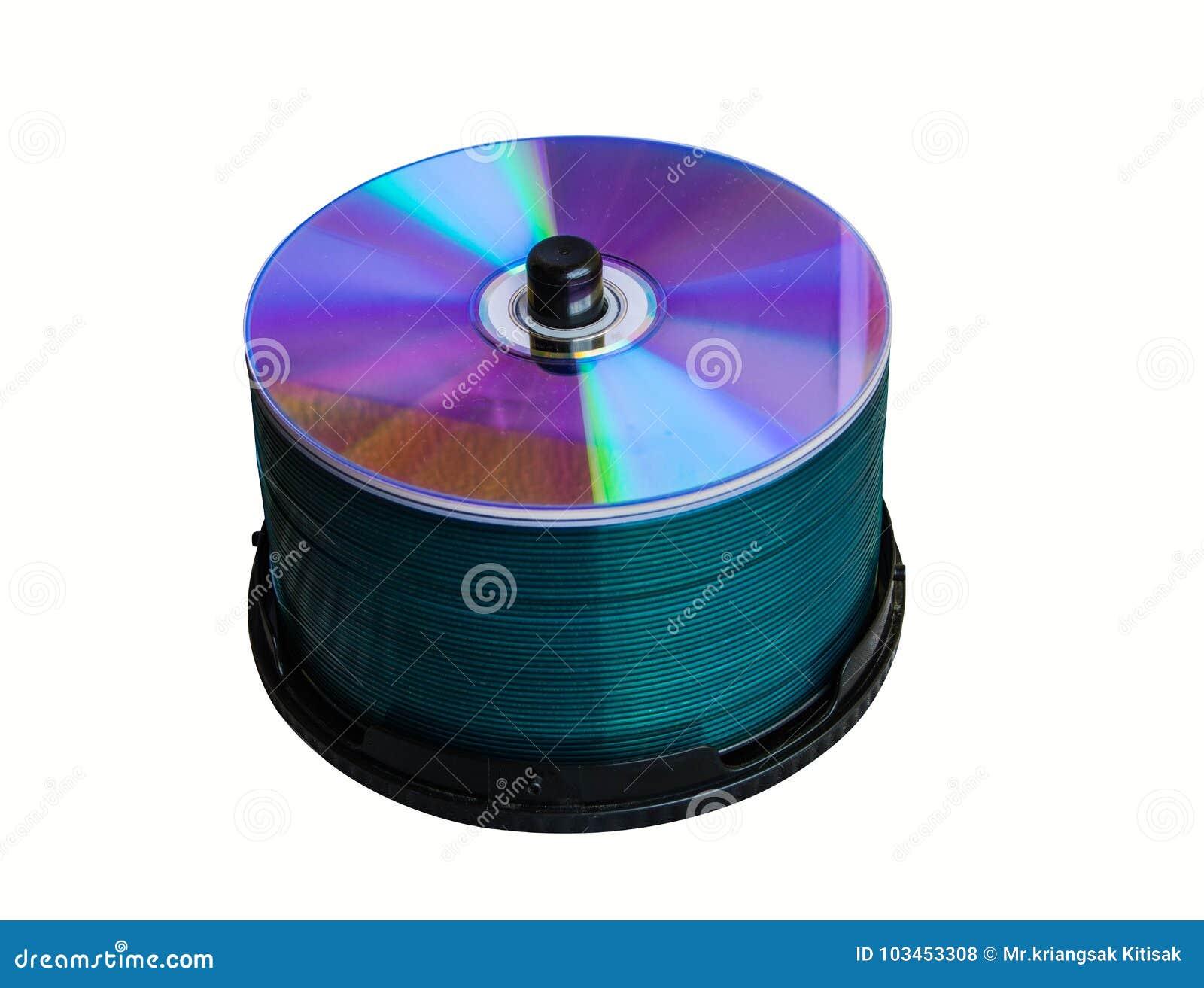 De CD verpakking om bedrijfsinformatie te bewaren