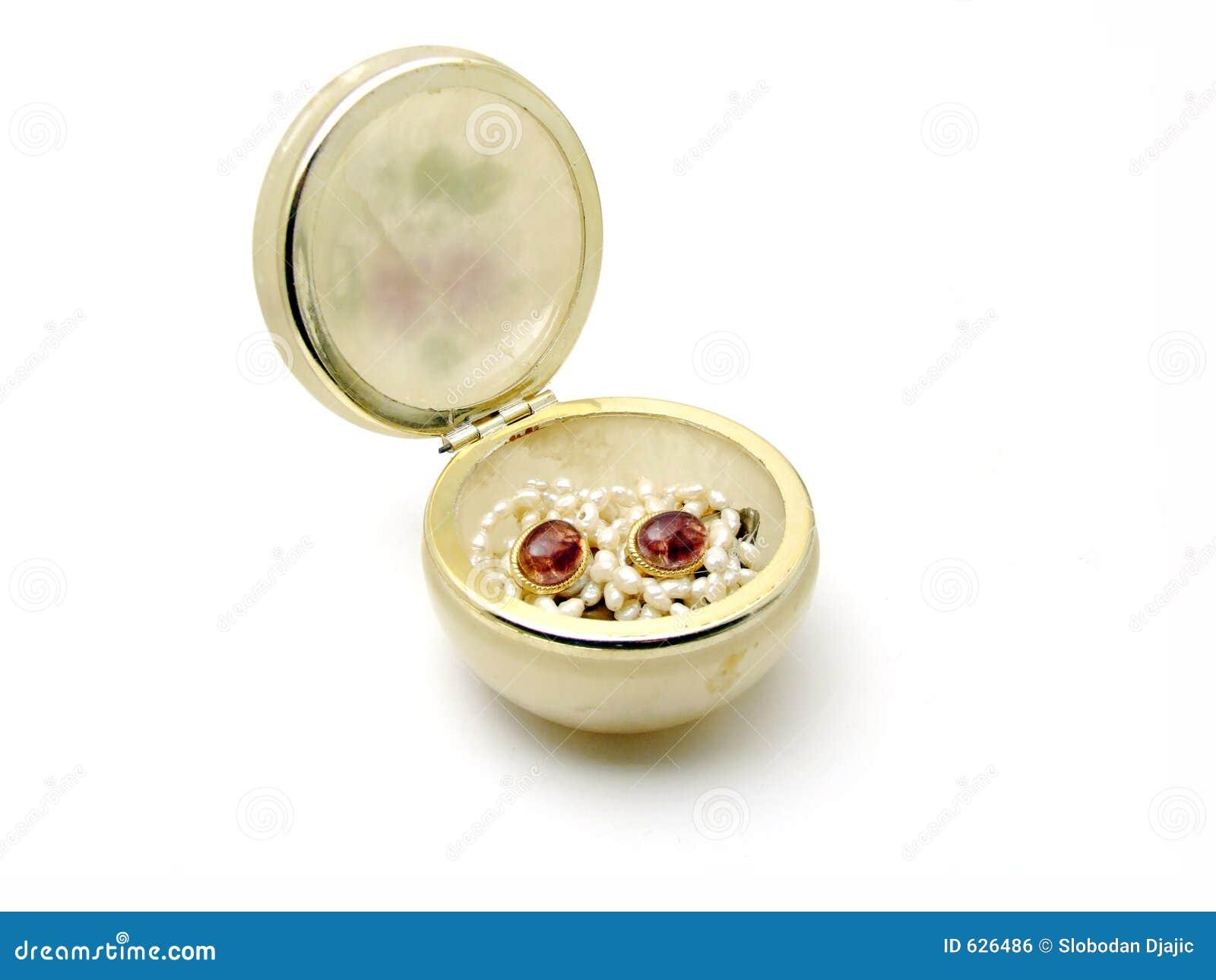 De ceramische kom van Jewelery