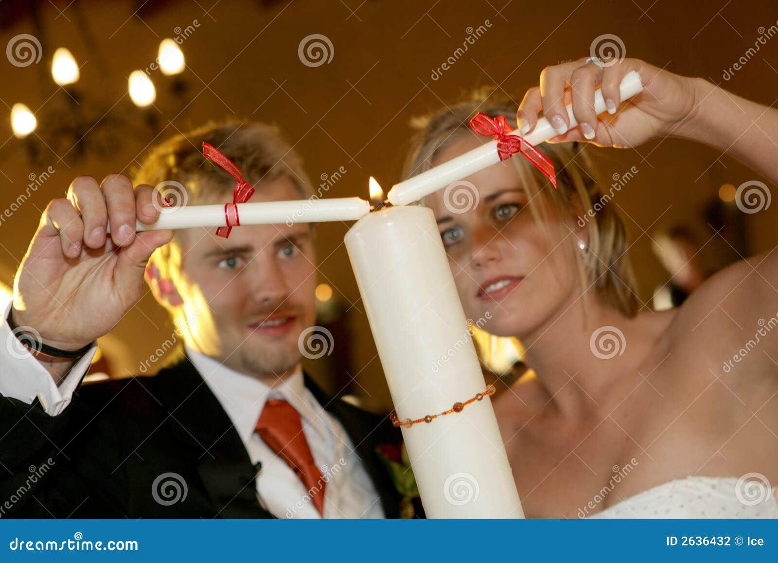 De Ceremonie van de kaars