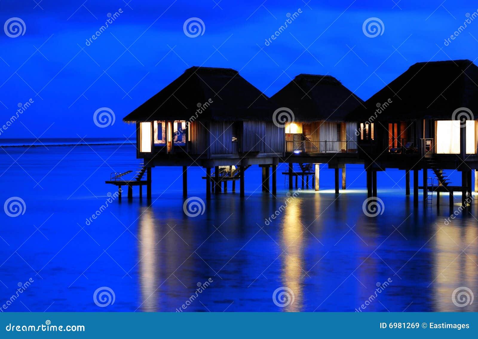 De charmante Nacht van de Villa van het Water