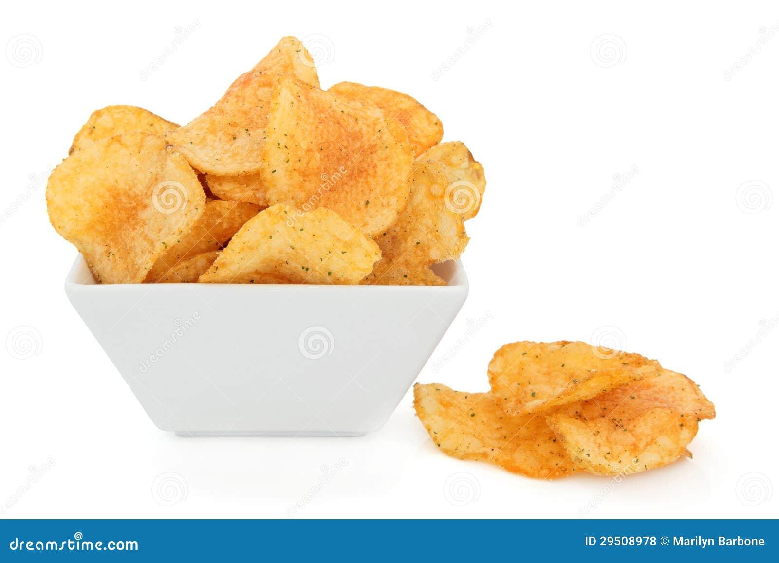 De Chips van de Spaanse peper en van het Kruid