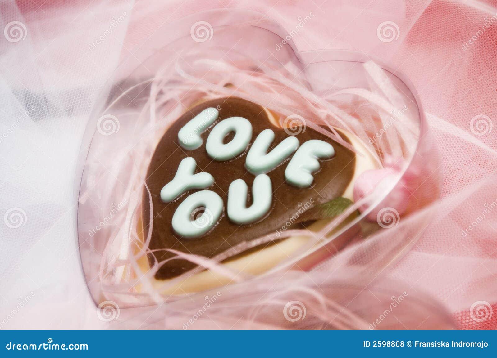 De chocolade van de liefde