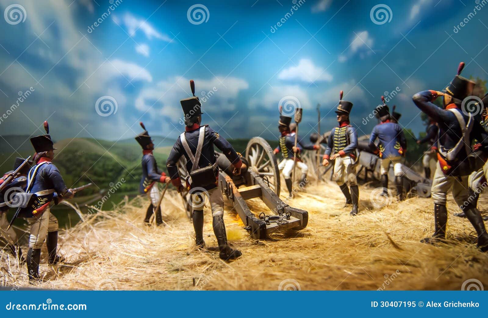 De cijfers van het burgeroorlogweer invoeren