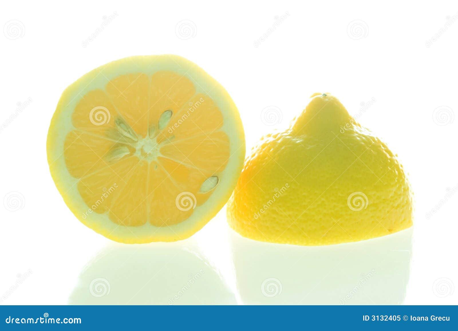 De citroen van de besnoeiing