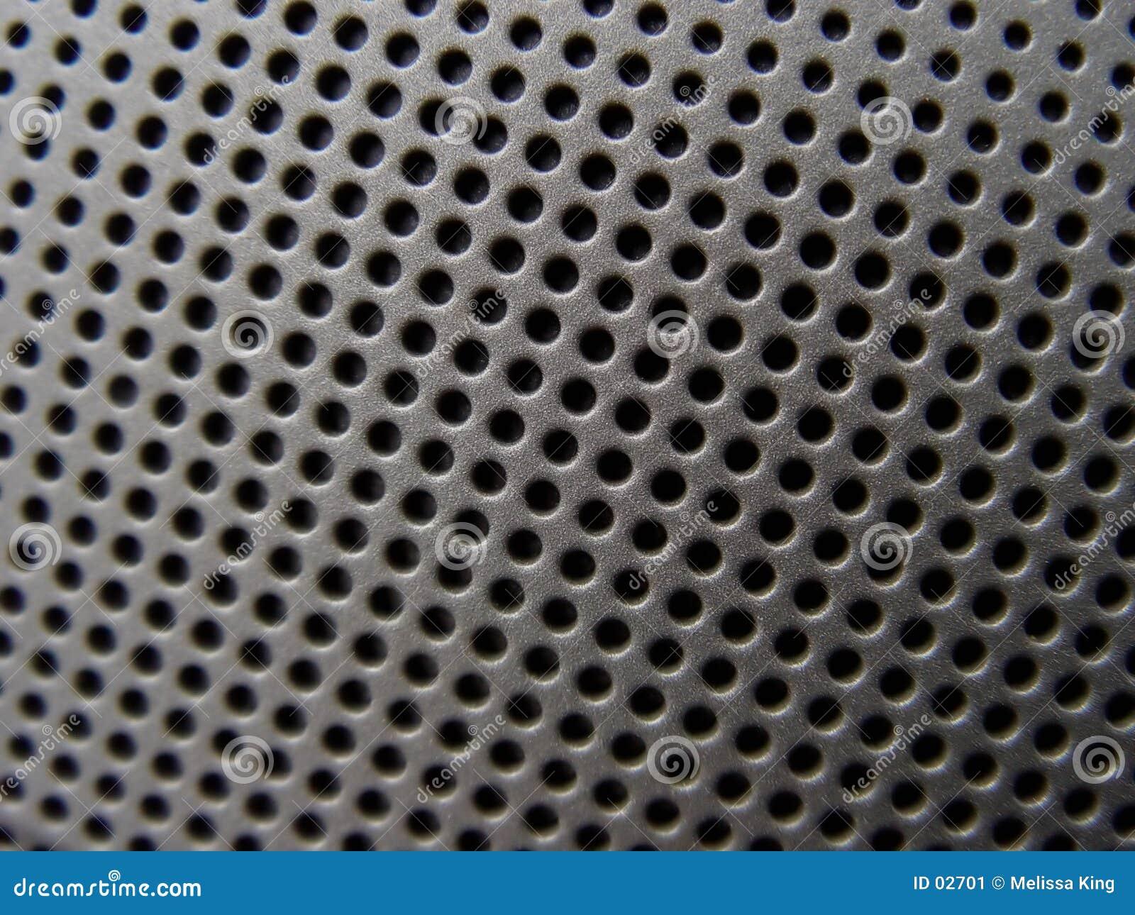De Close-up van de spreker