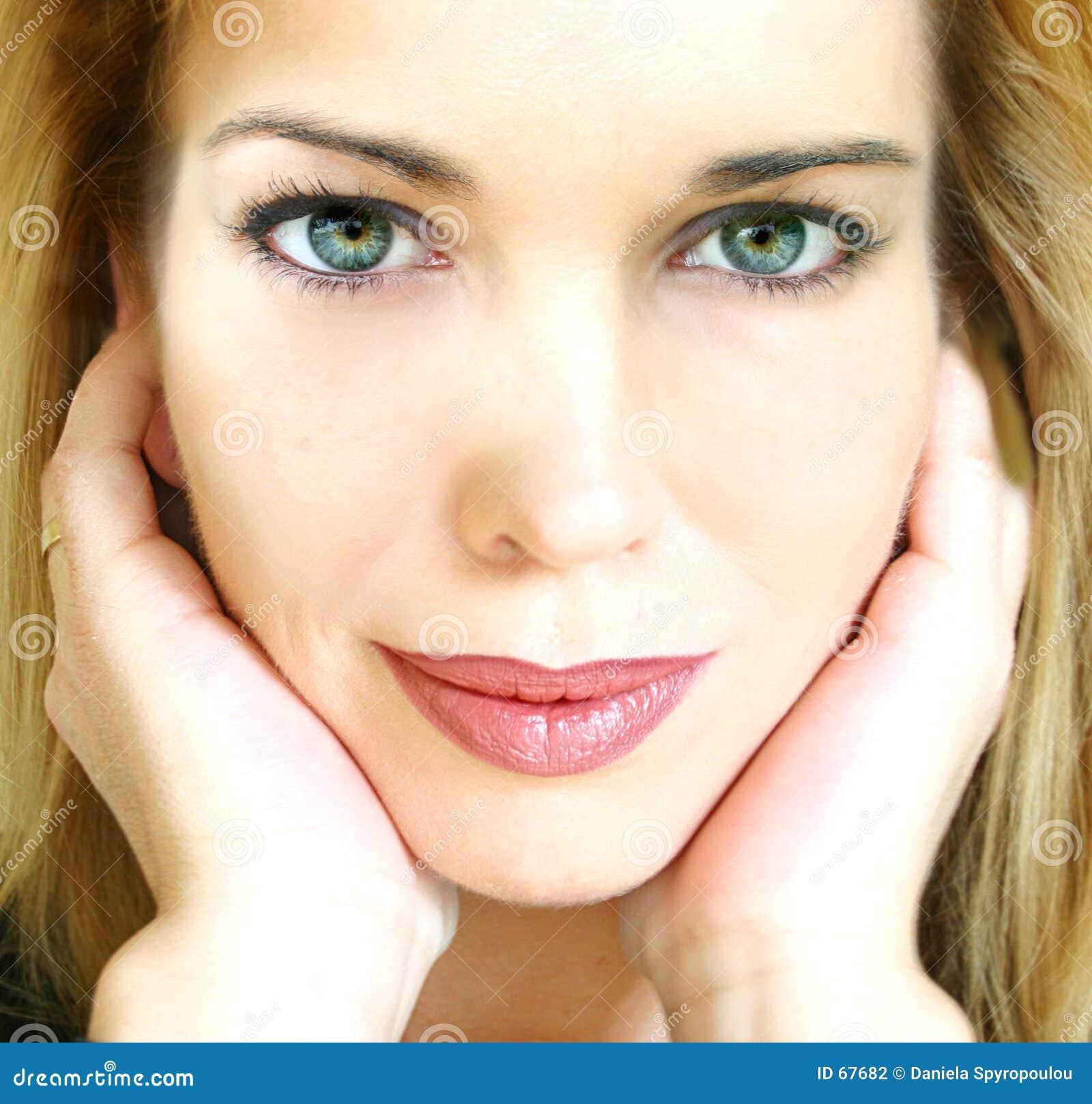 de close up van het gezicht stock fotografie beeld 67682. Black Bedroom Furniture Sets. Home Design Ideas