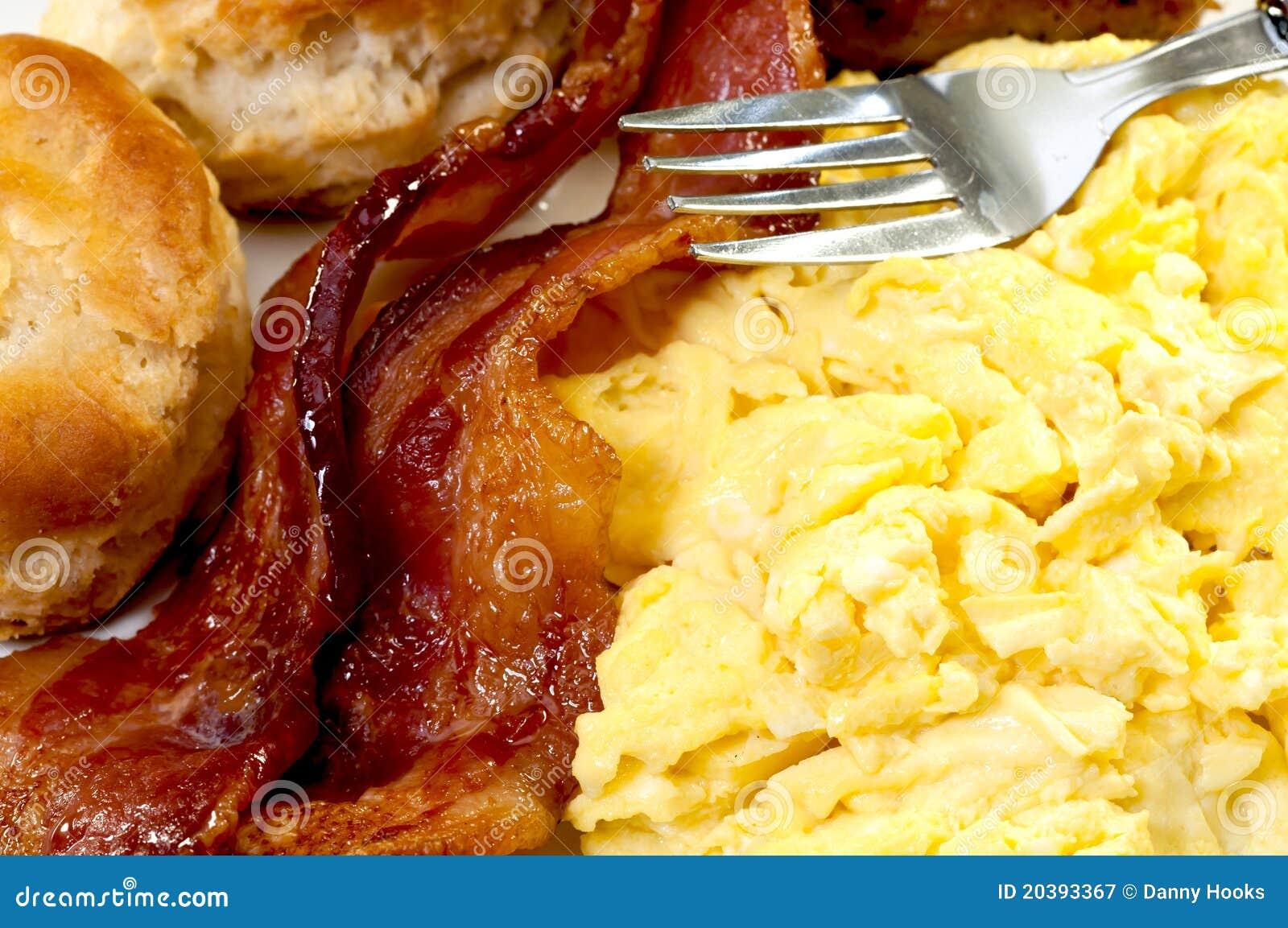 De Close-up van het Ontbijt van het land