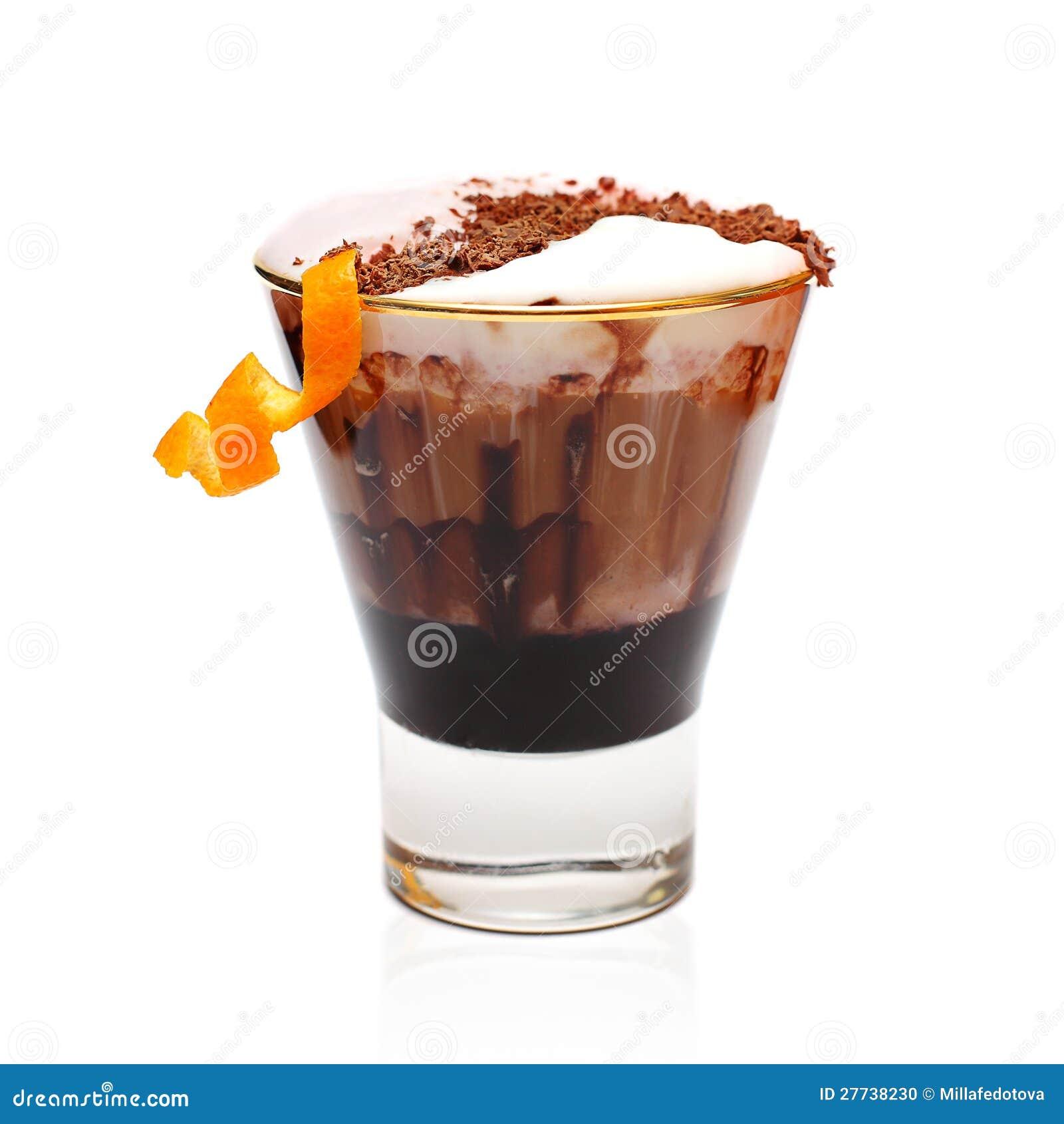 De cocktail van de koffie - de winterdrank