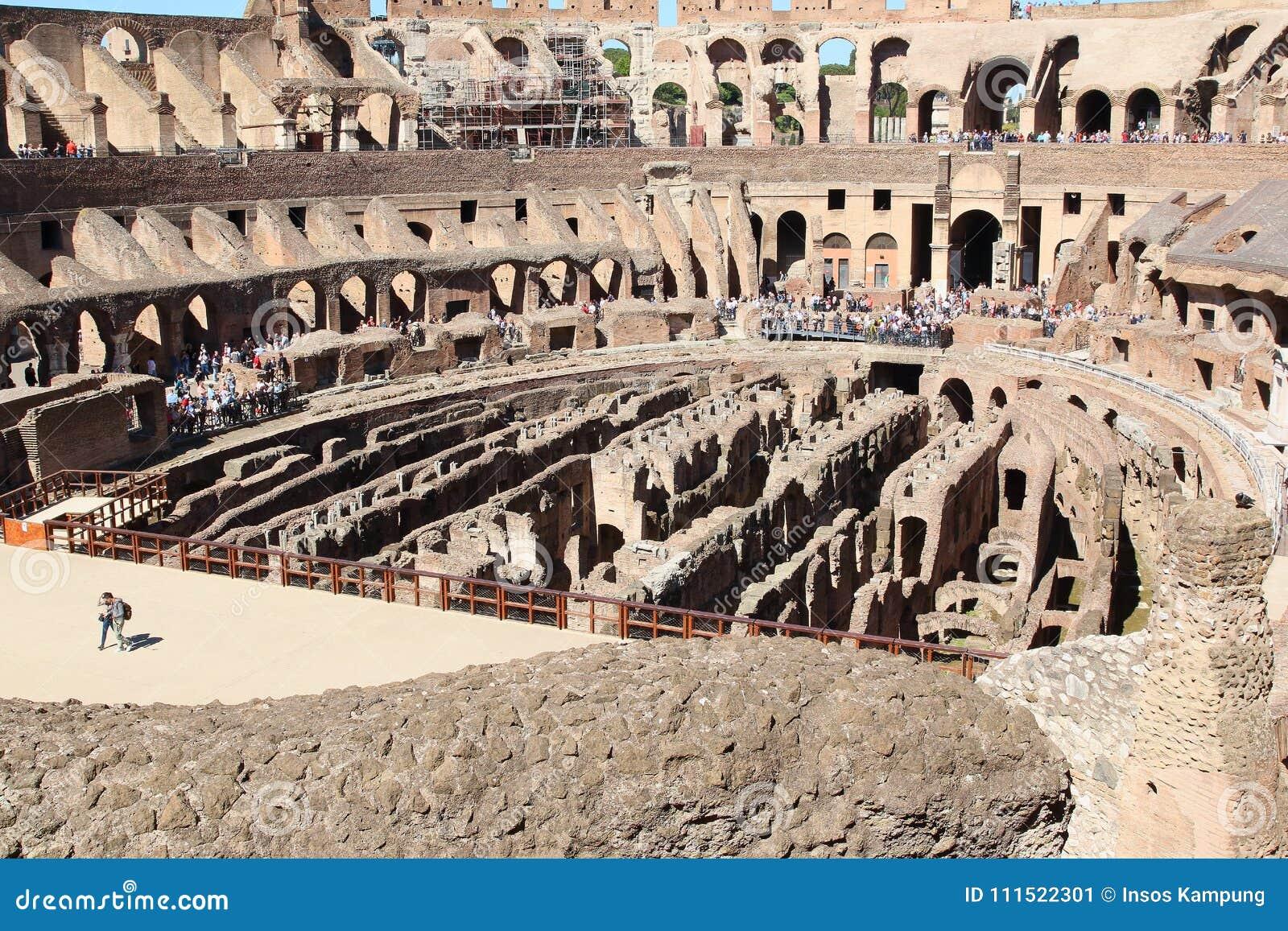 De Colosseum-Arena, Rome