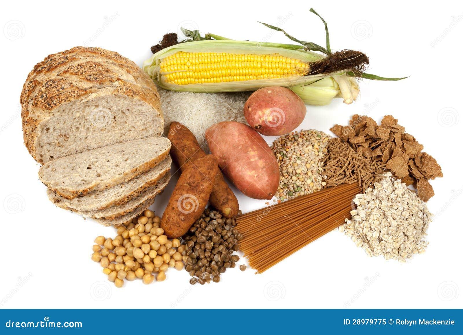 De complexe Bronnen van het Voedsel van Koolhydraten