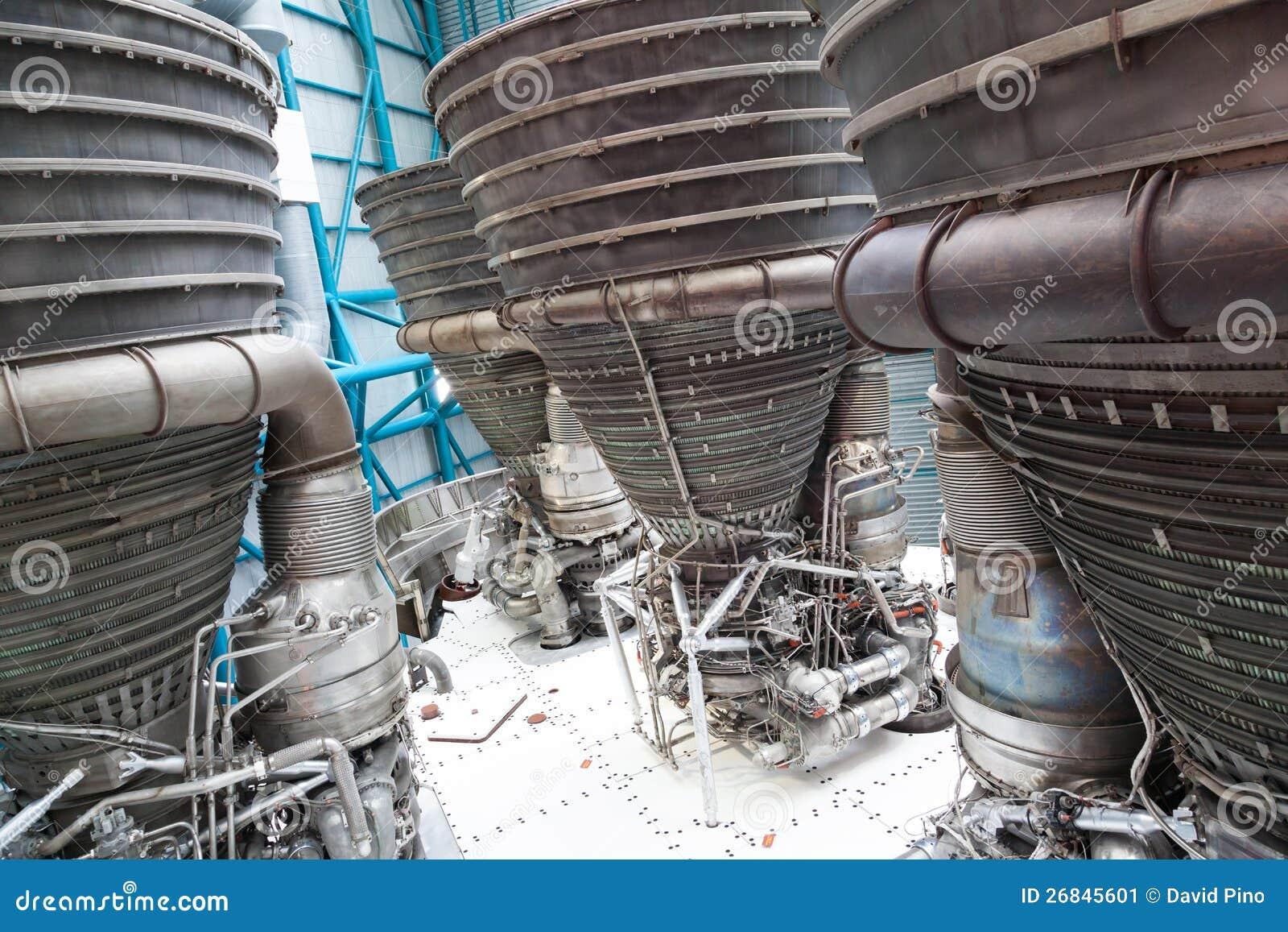 De componenten van de straalmotor