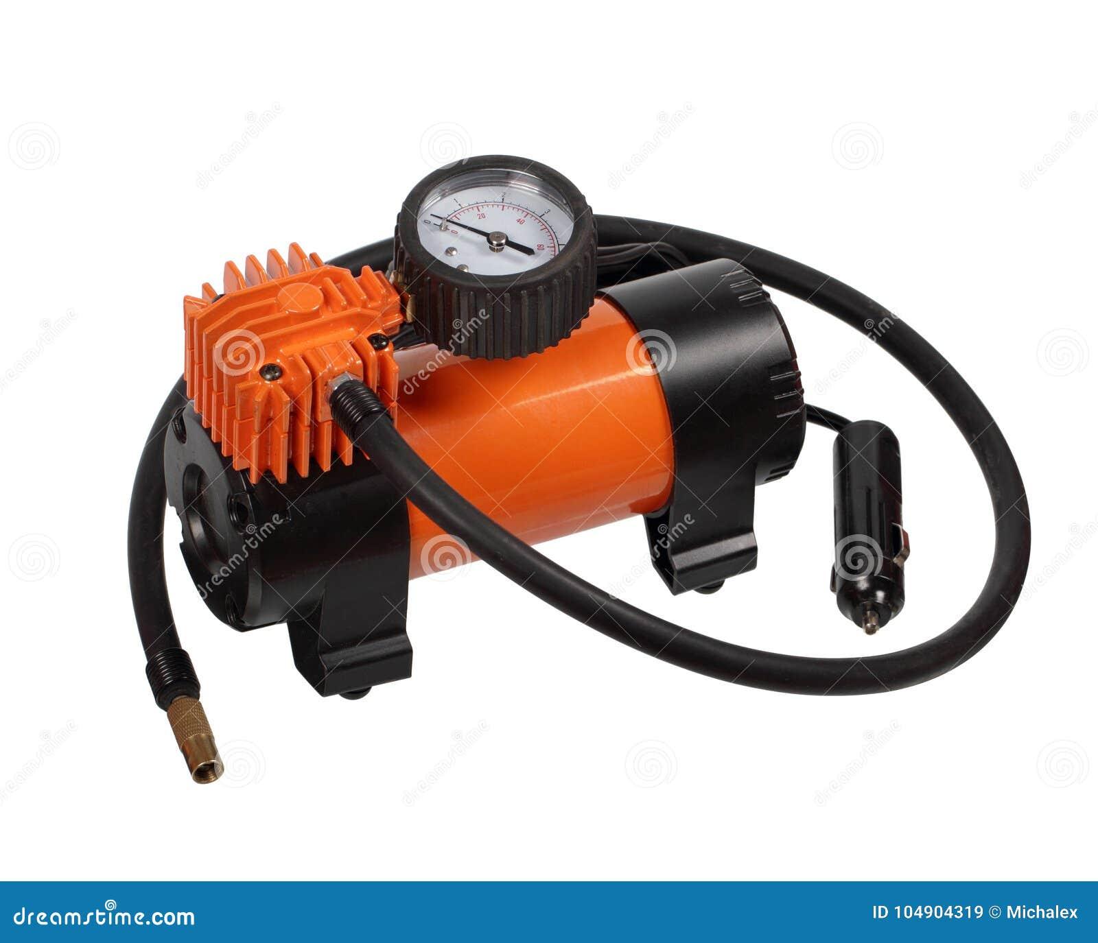 De compressor van de autolucht