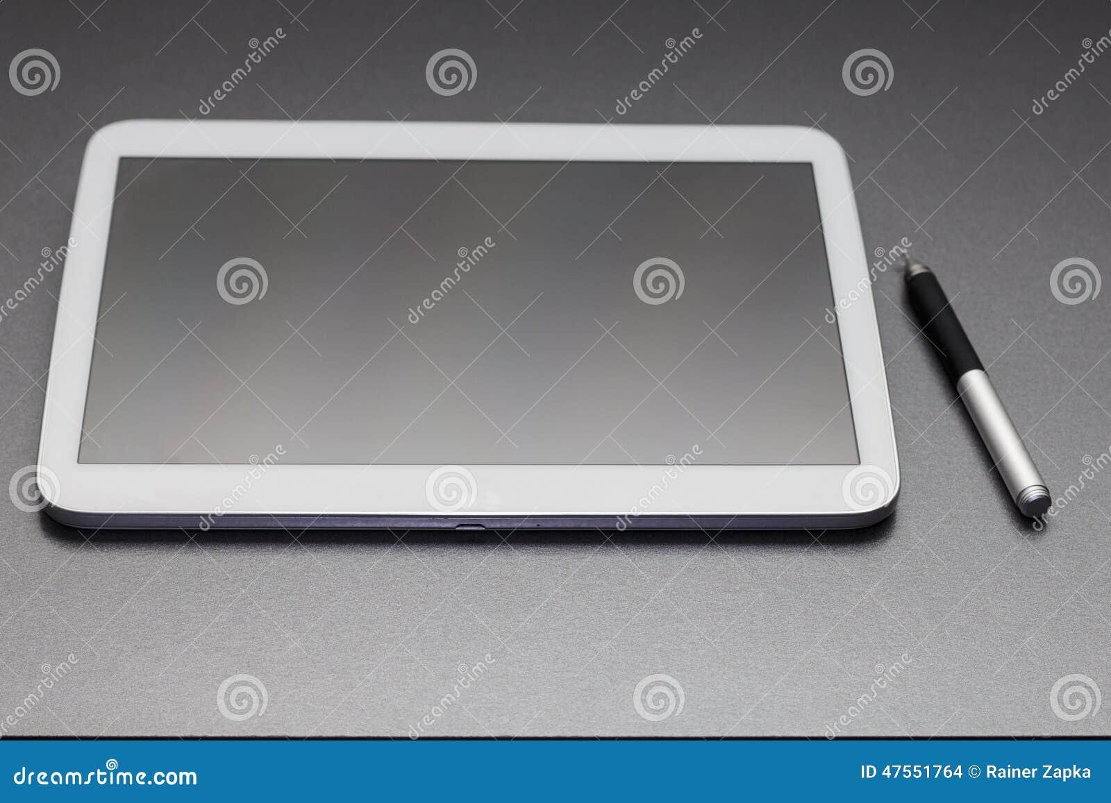 De computer van de tablet