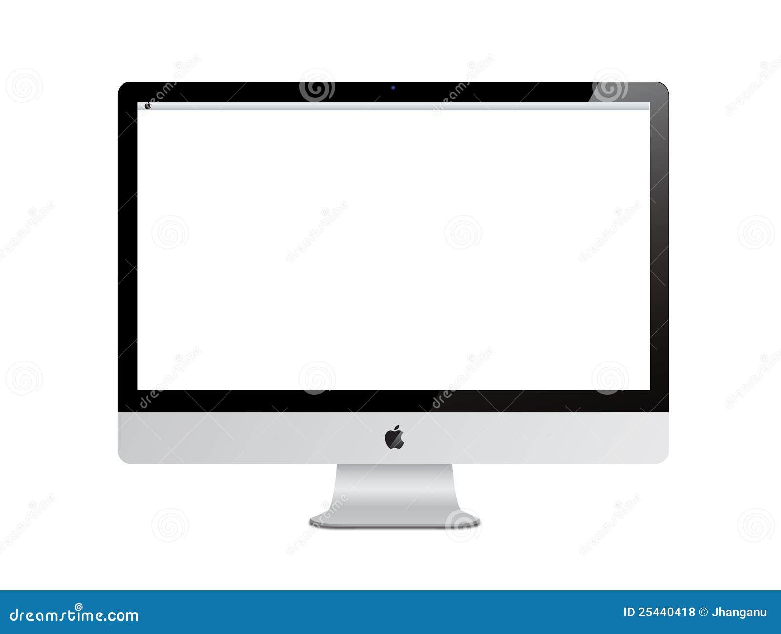 De computer van Imac van de appel