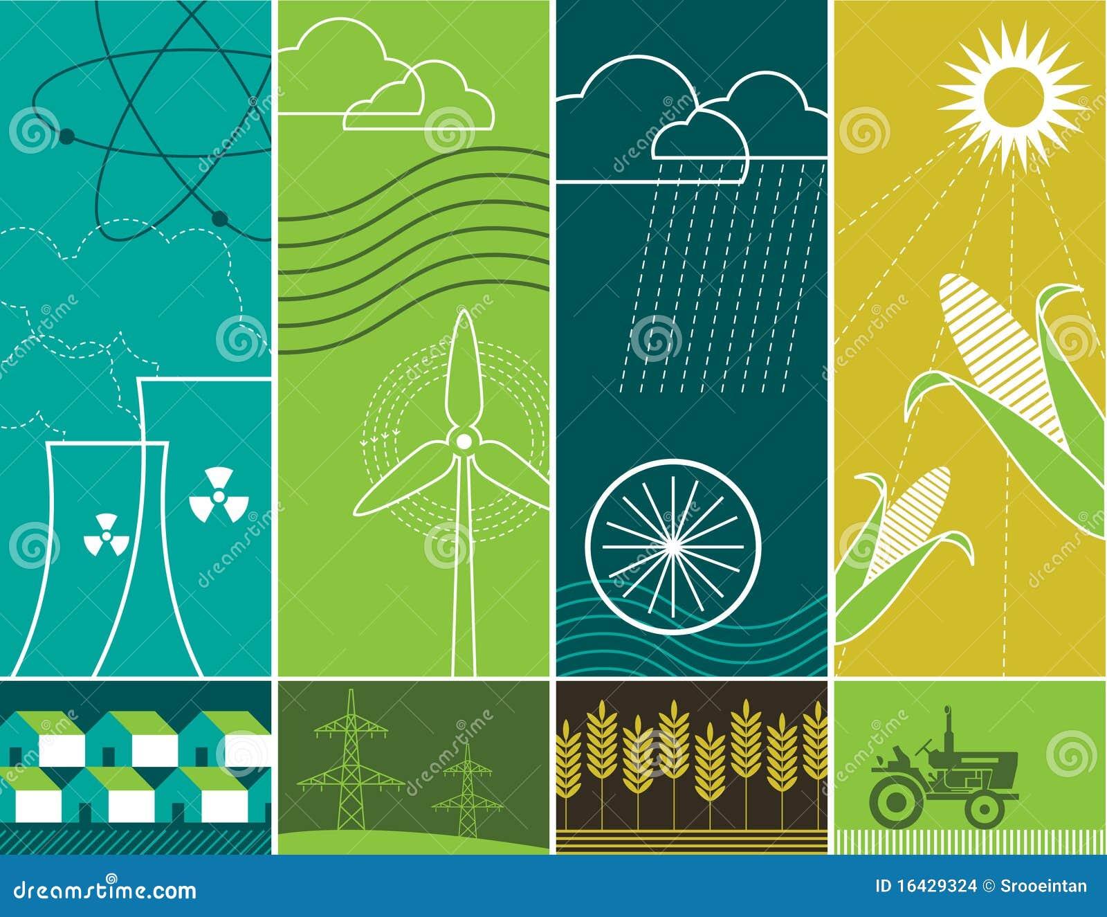 De Concepten van de energie