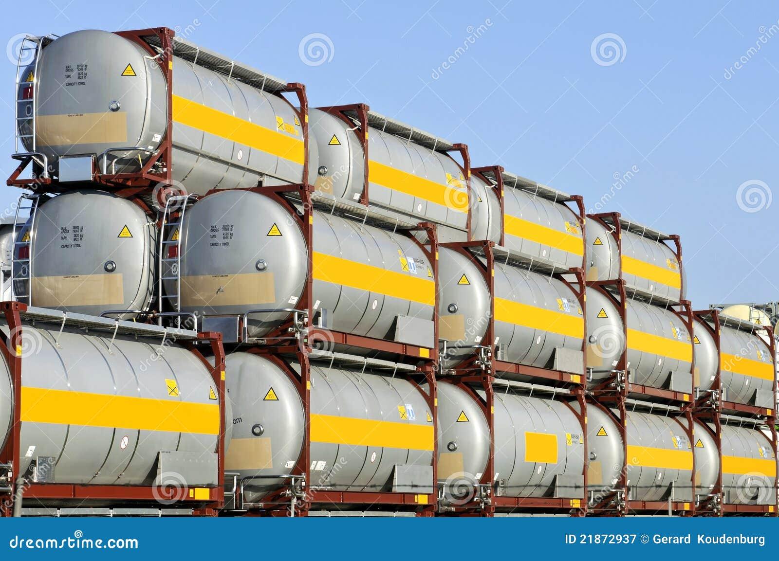 De container van de lading voor levensmiddel