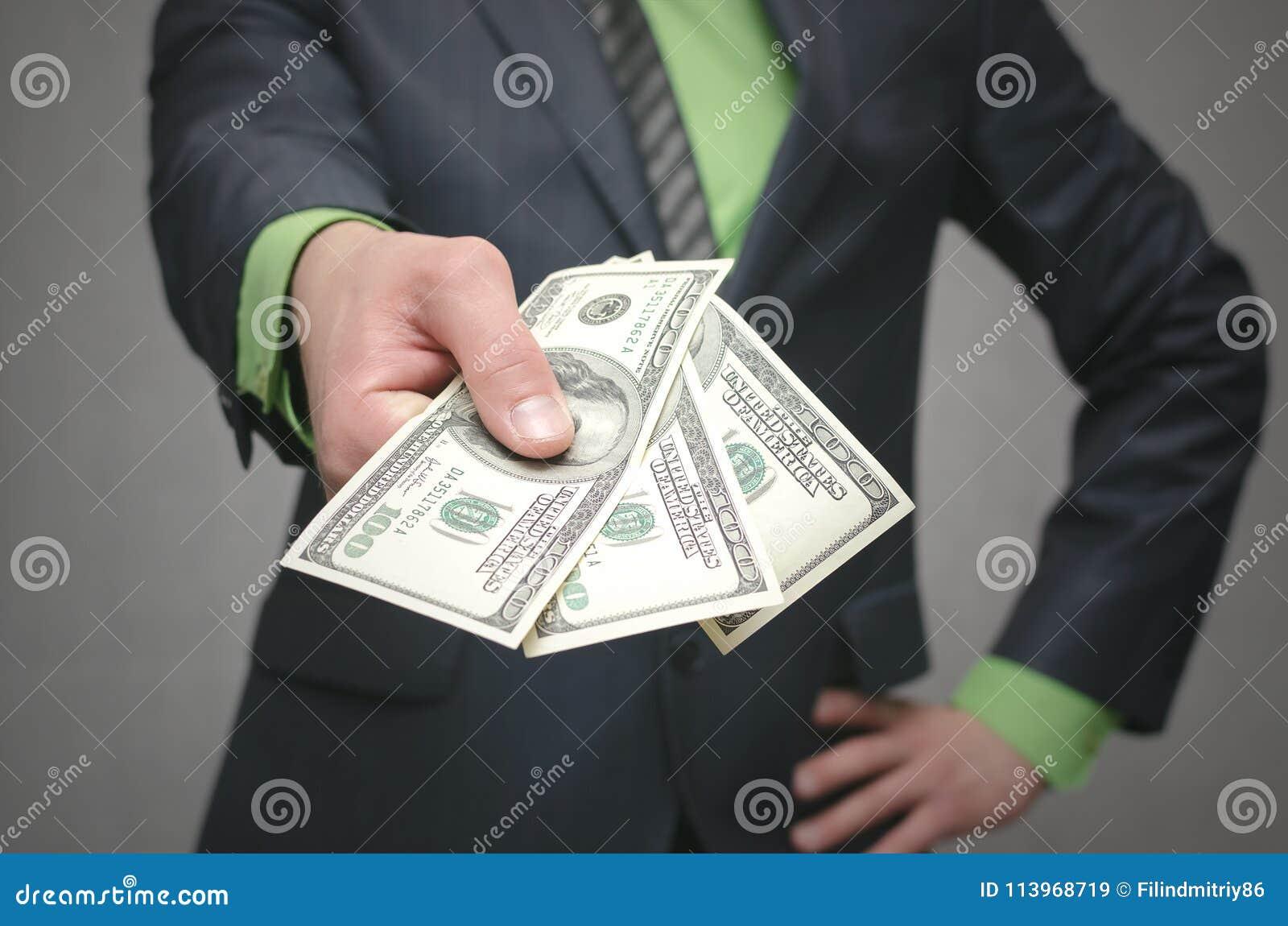 De corruptie steekpenning Financiële hulp Banklening
