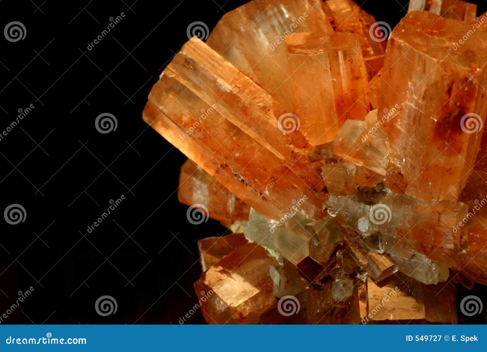 De cristal fin vers le haut