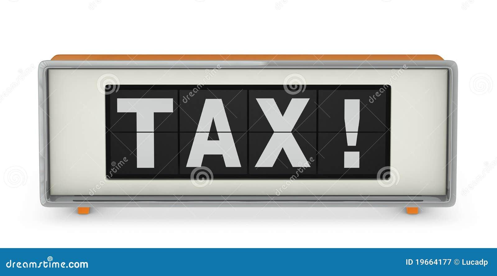 De dag van de belasting