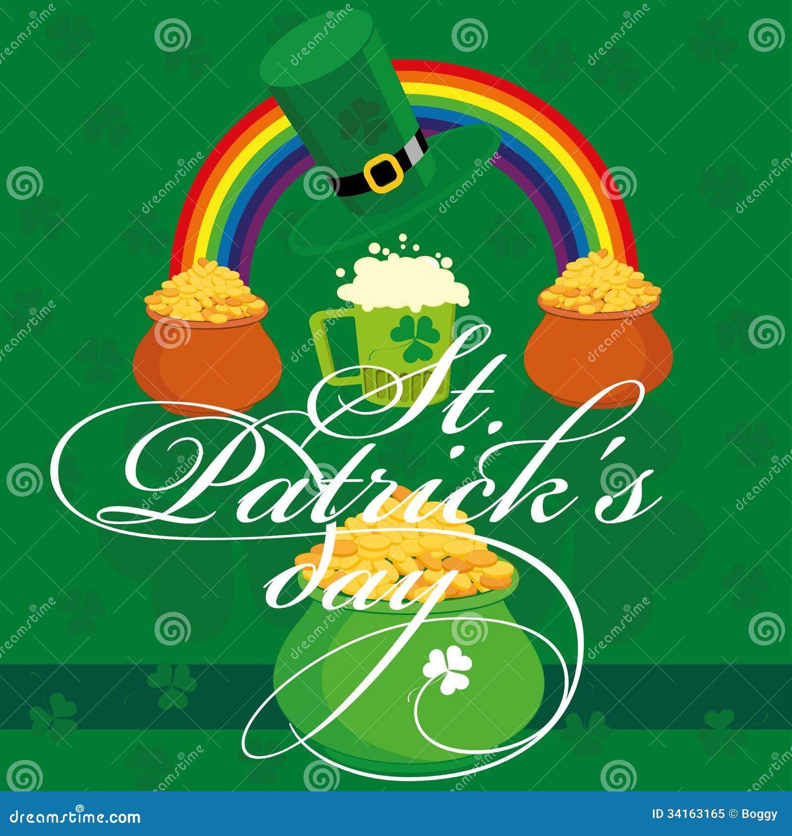 De dag van heilige Patricks