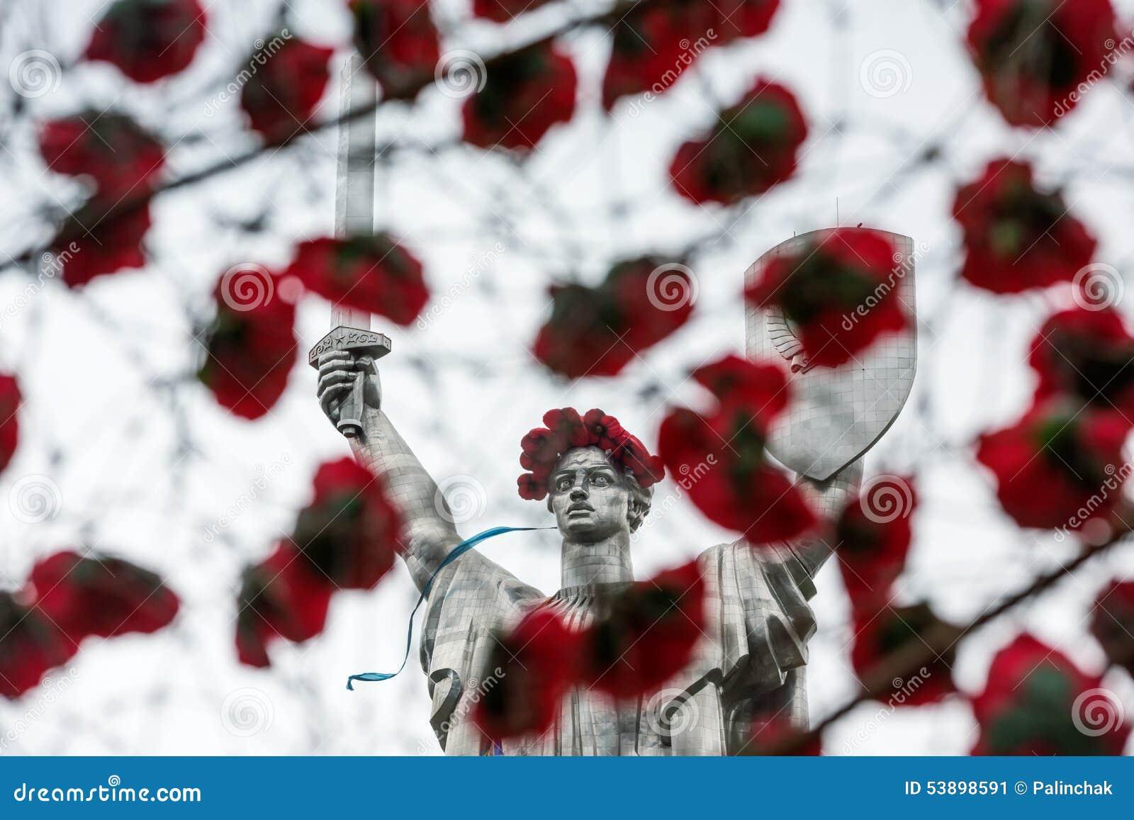 De dag van herinnering en verzoening in Kiev