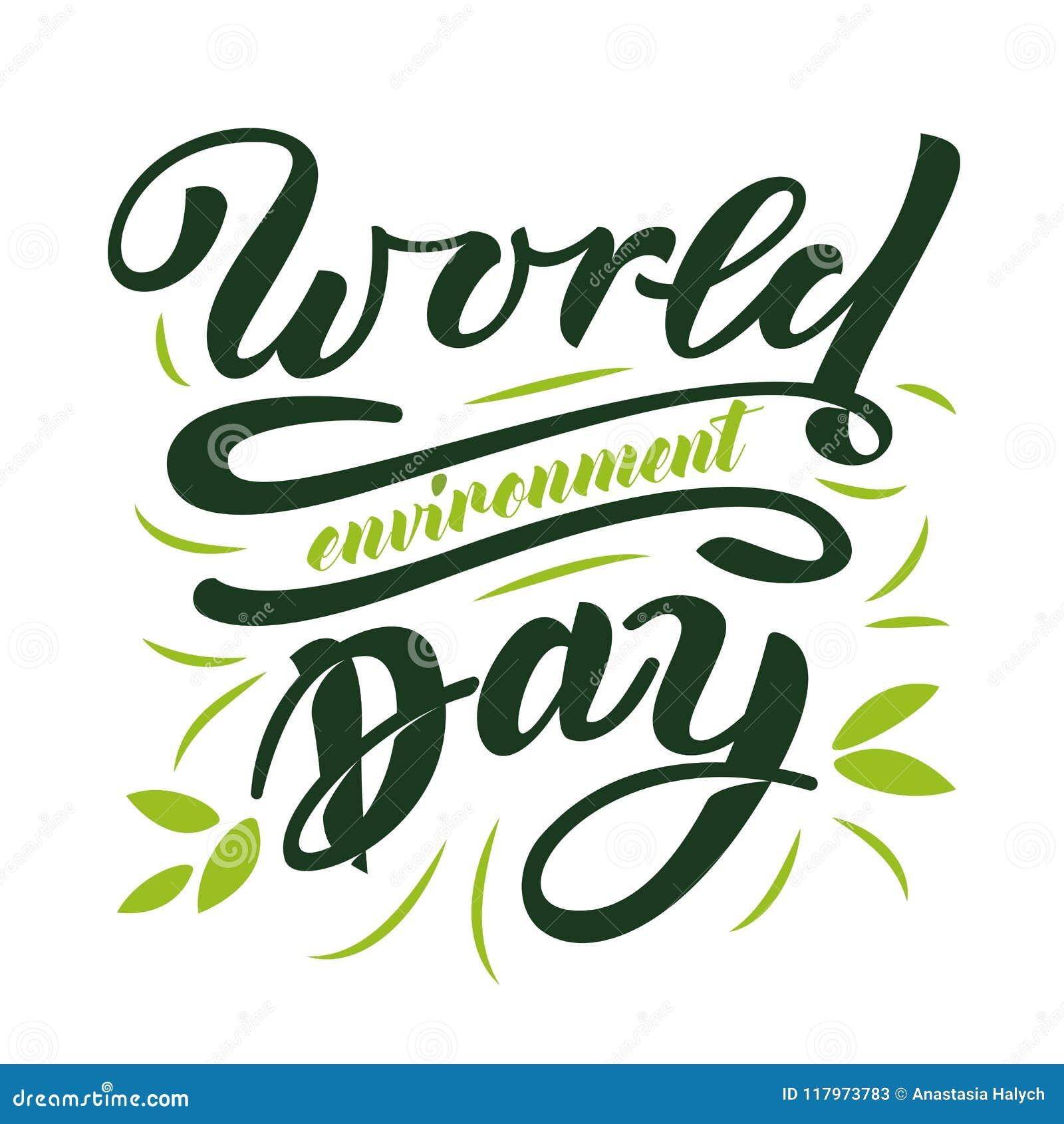 De Dag van het wereldmilieu
