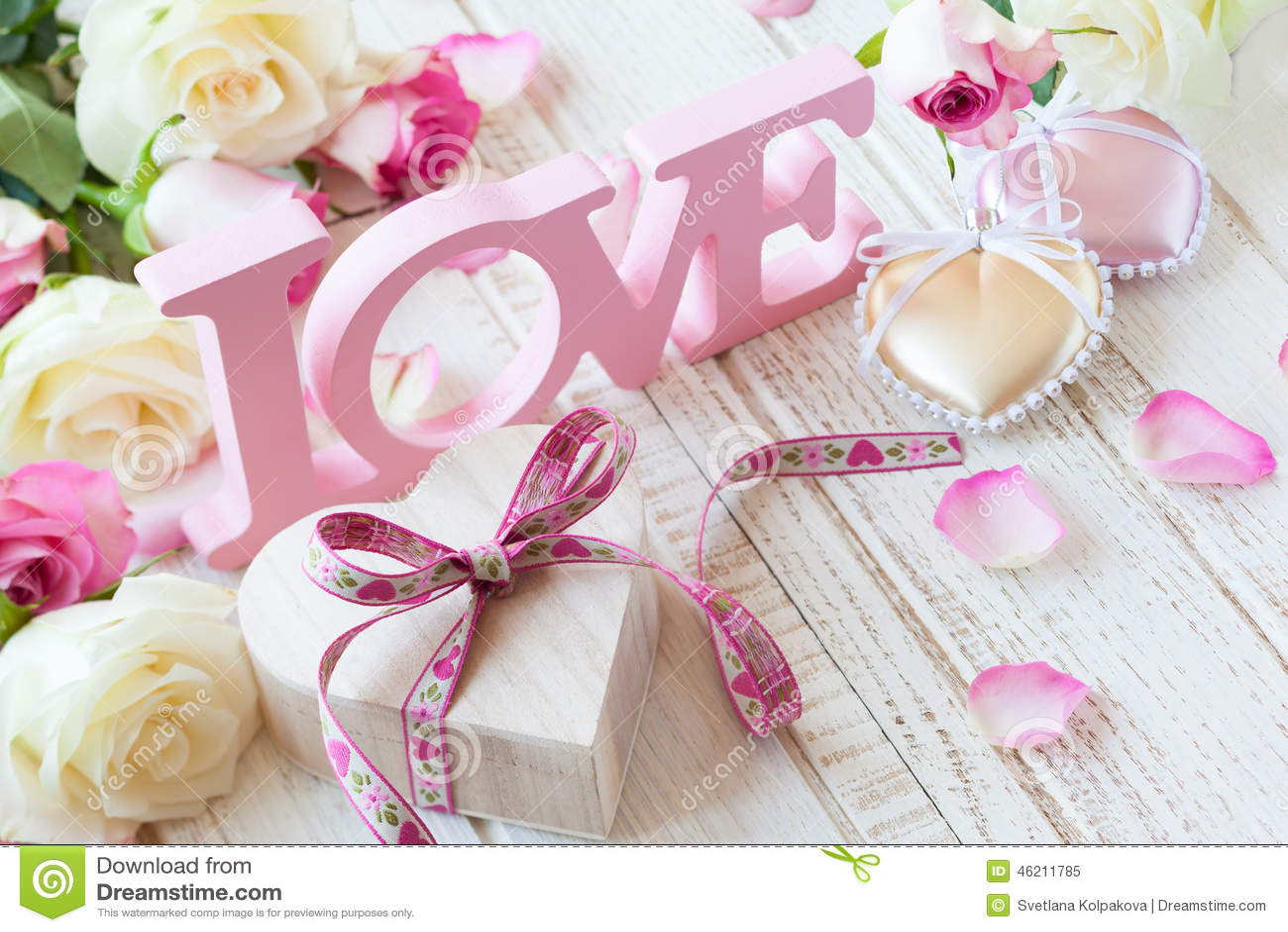 De dagconcept van de valentijnskaart